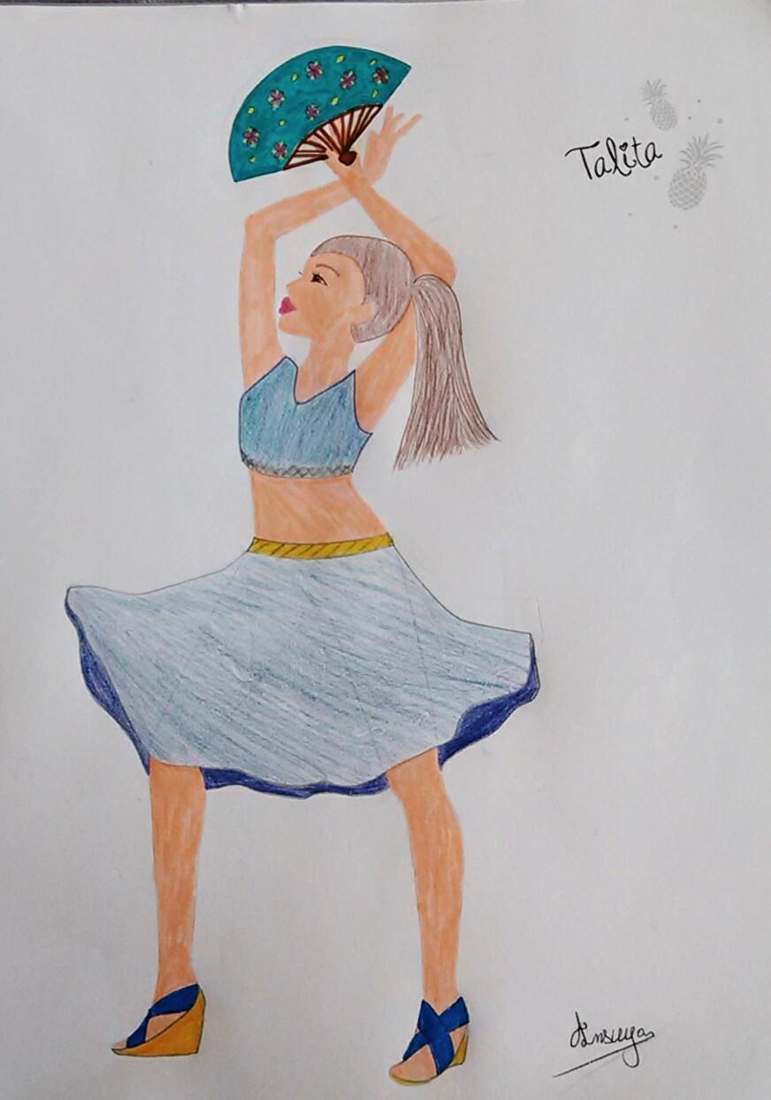 Ansuya C., 12 ans, sur Sèvres
