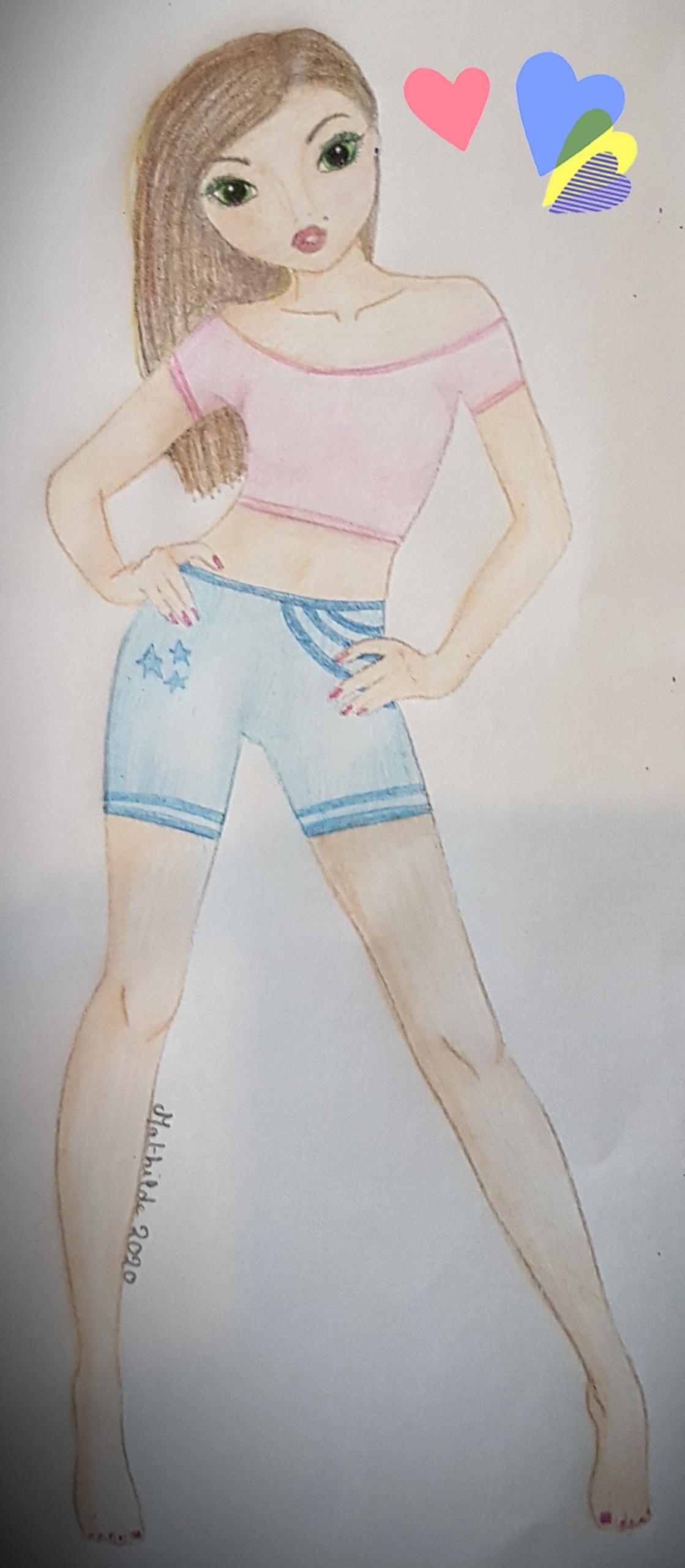 Mathilde G., 14ans, surMONTHOU SUR CHER