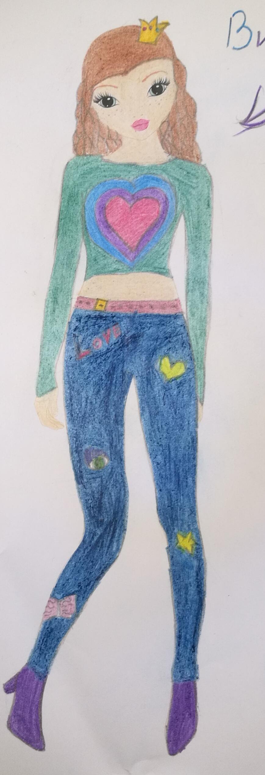 Alissa E., 10ans, surMoscou