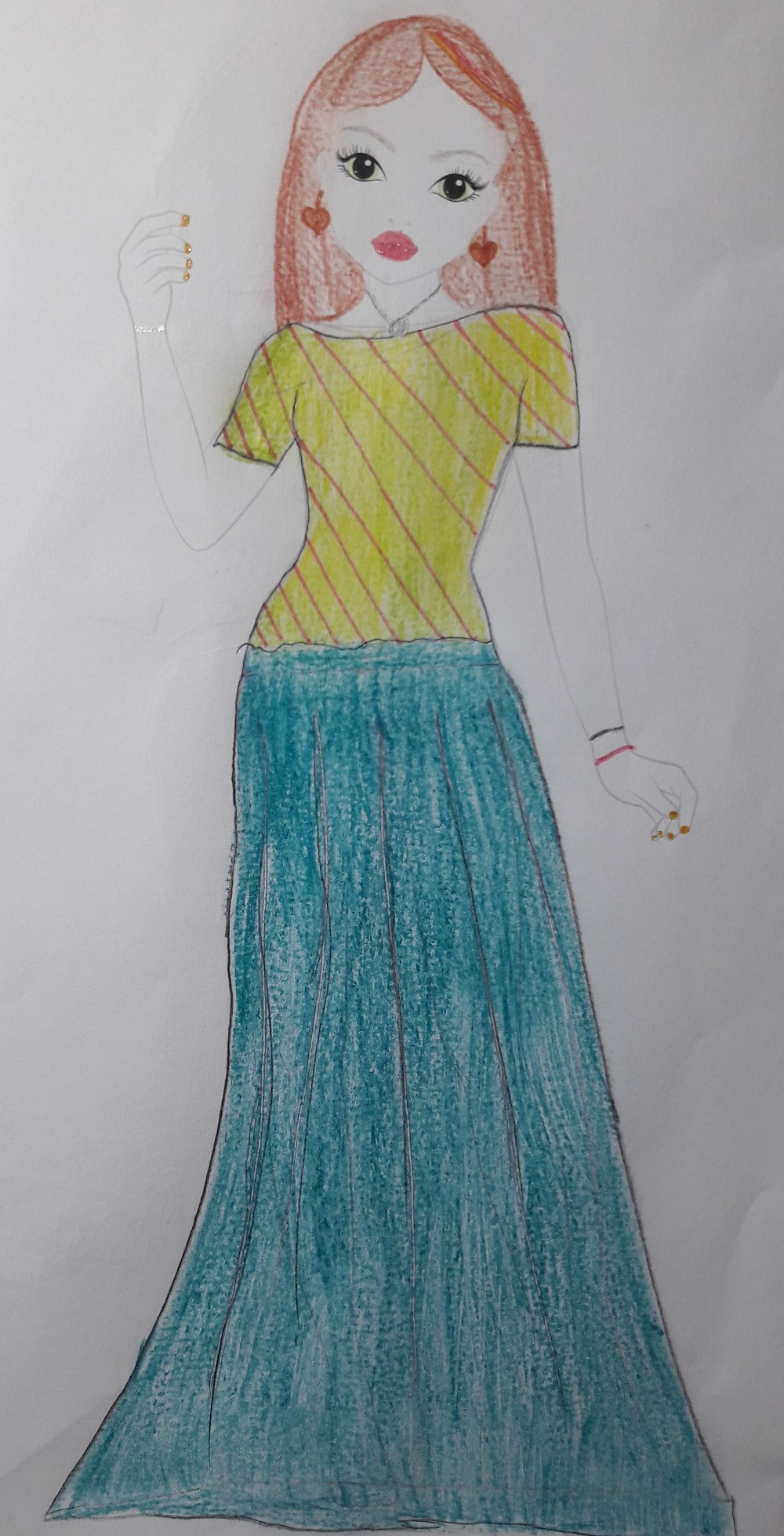 Phélyne F., 7 Jahre, aus Saint Maur des Fossés