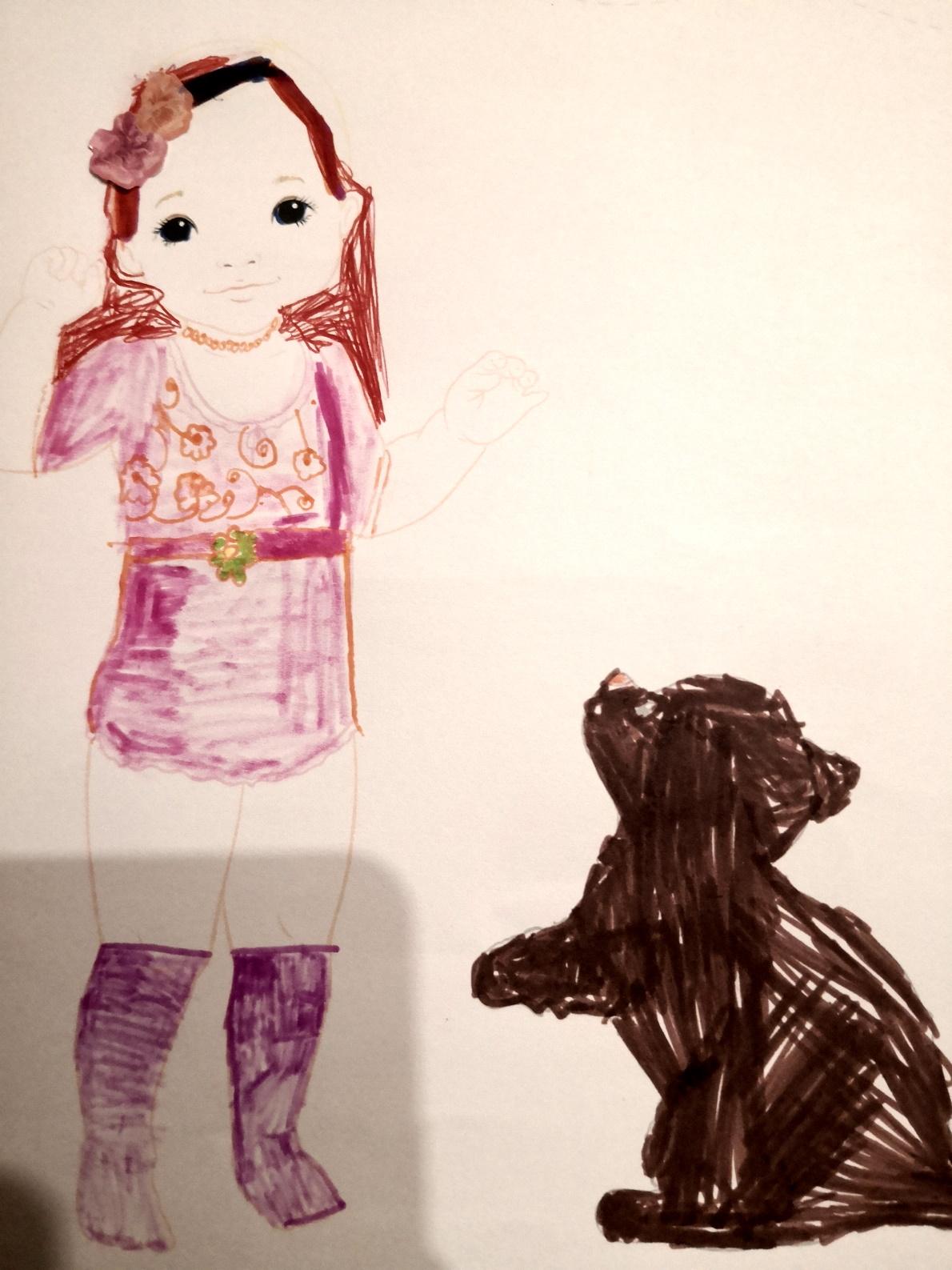 Lina T., 6 Jahre, aus France