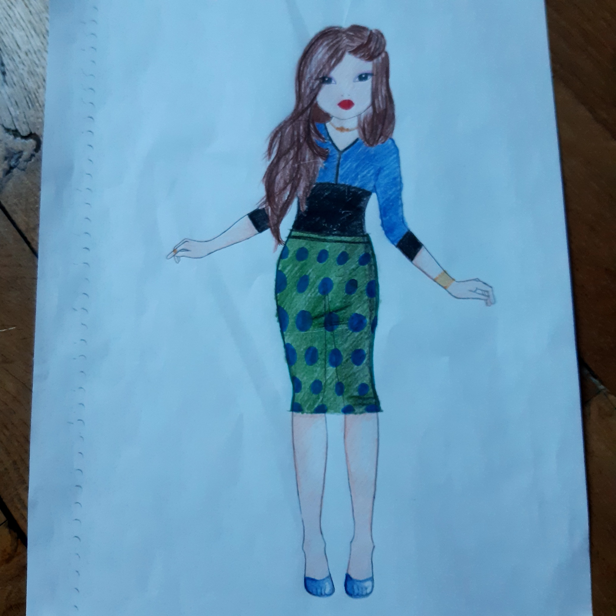 Camille  M., 10 Jahre, aus PARIS