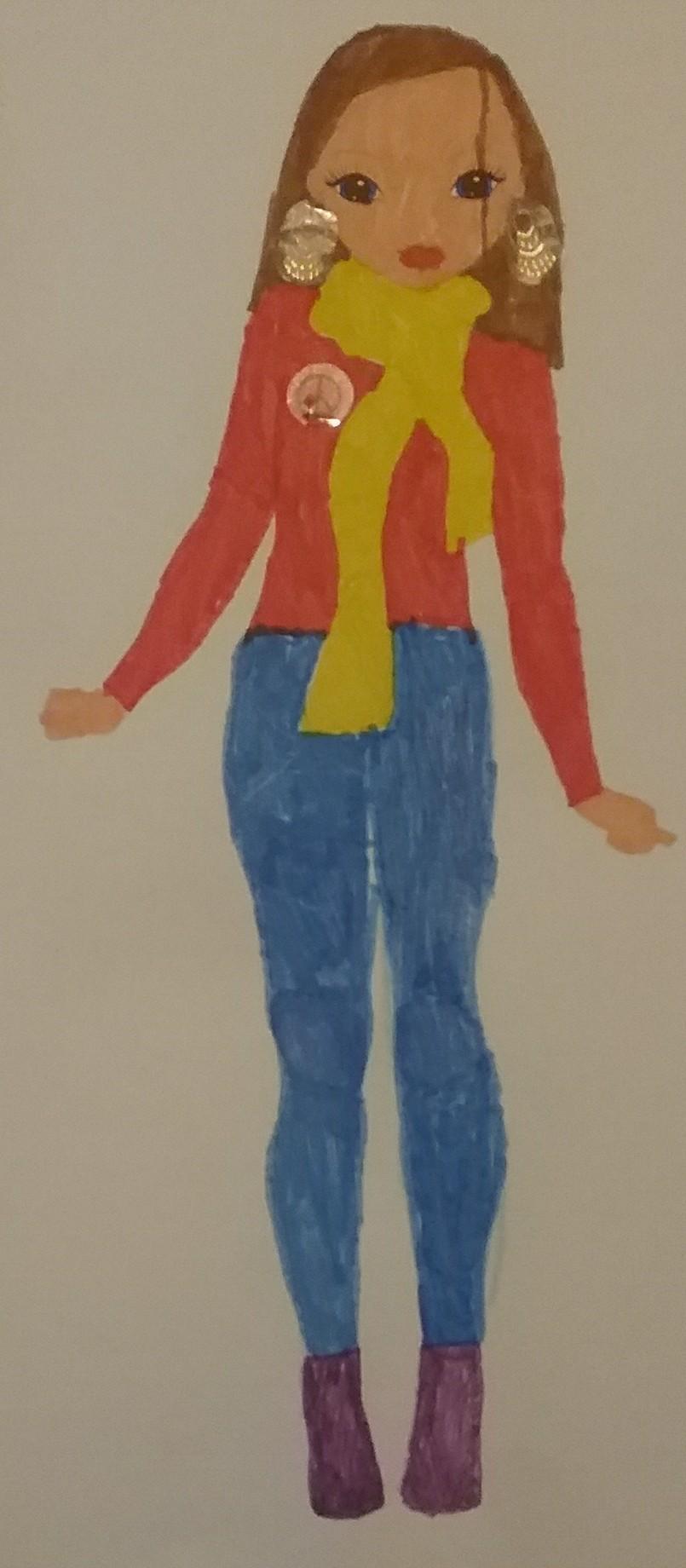 Emma  P., 9 Jahre, aus Gardane