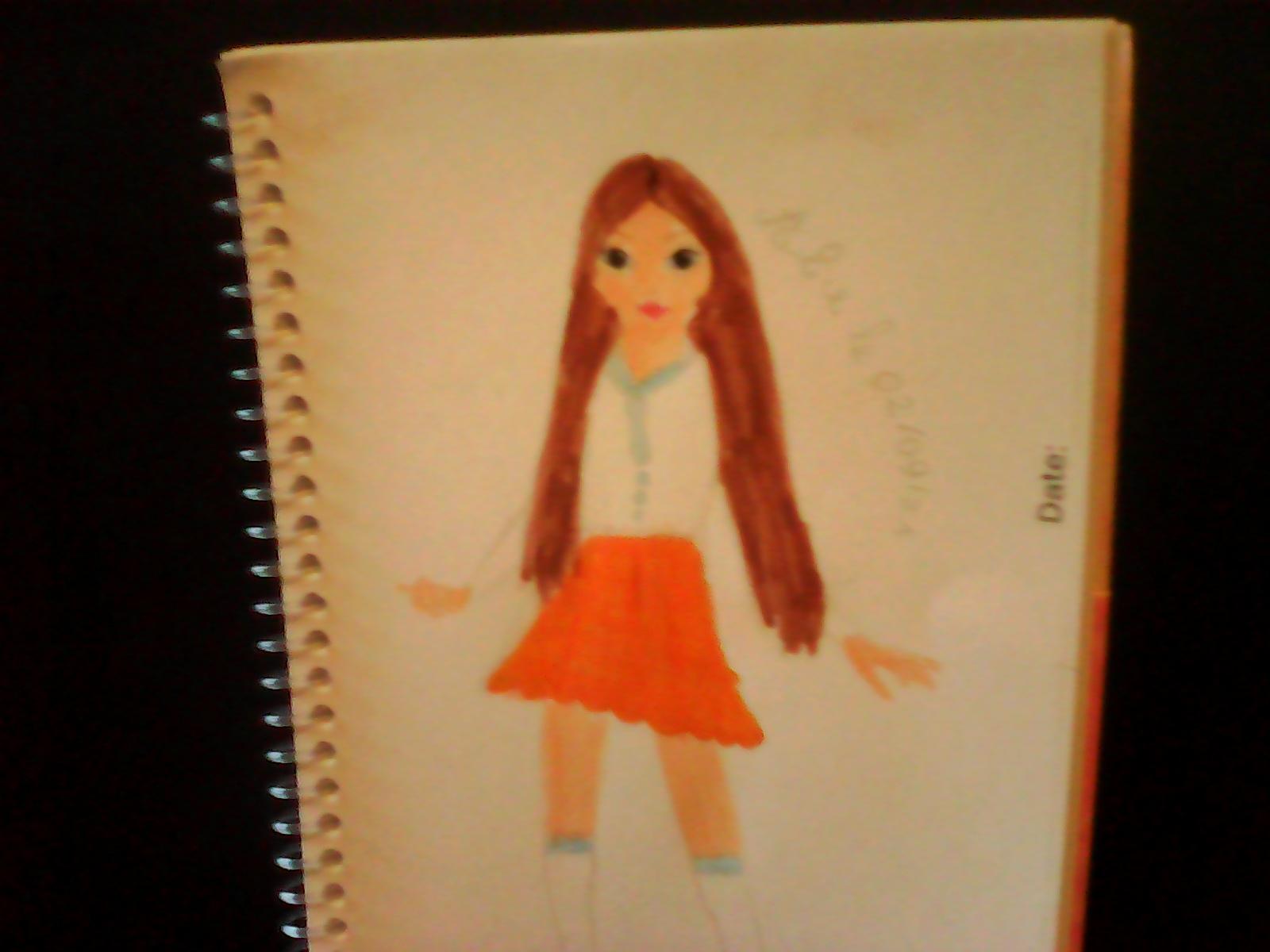 Alice D., 12 Jahre, aus Paris