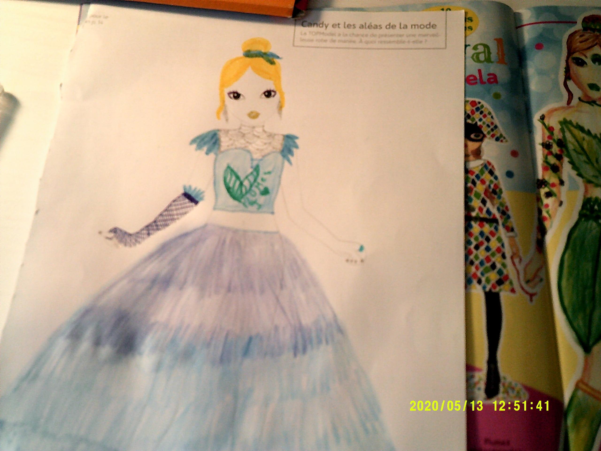 Nicia B., 11 Jahre, aus LUNEL