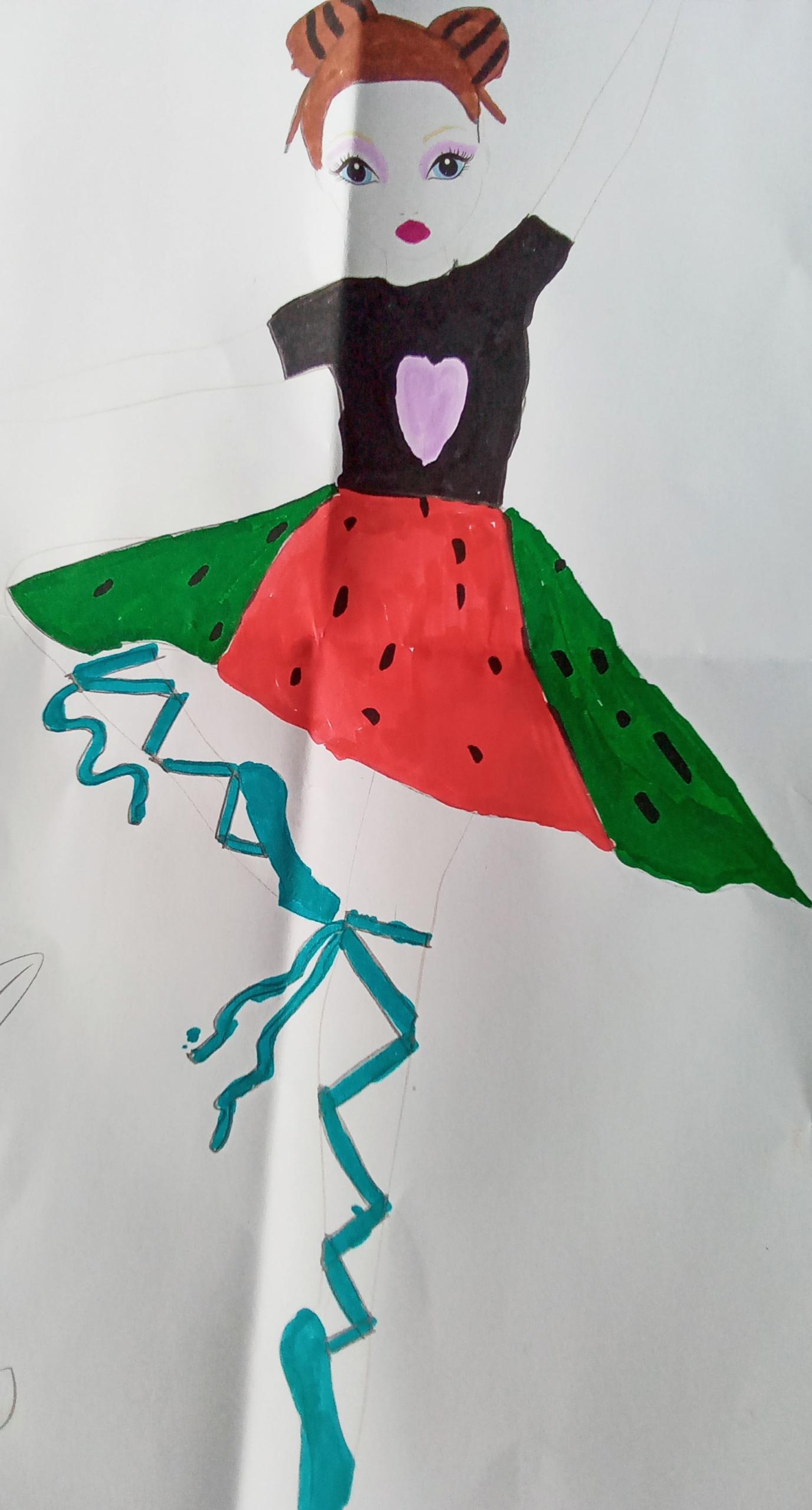 Nola R., 9 Jahre, aus Clasville