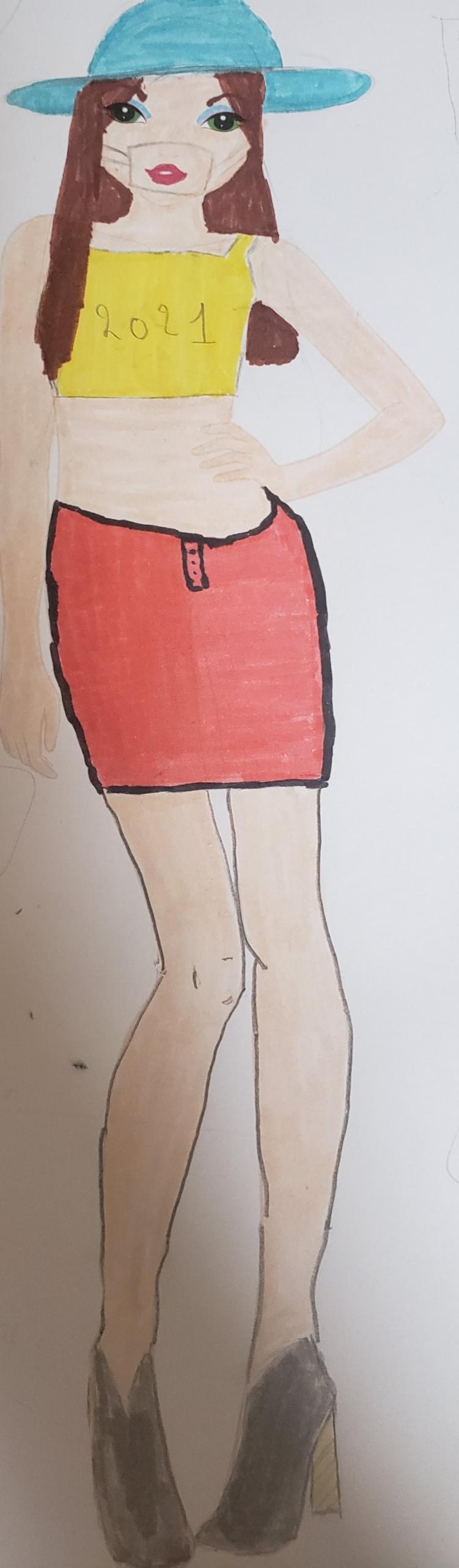 Pauline R., 14 ans, sur Auxerre