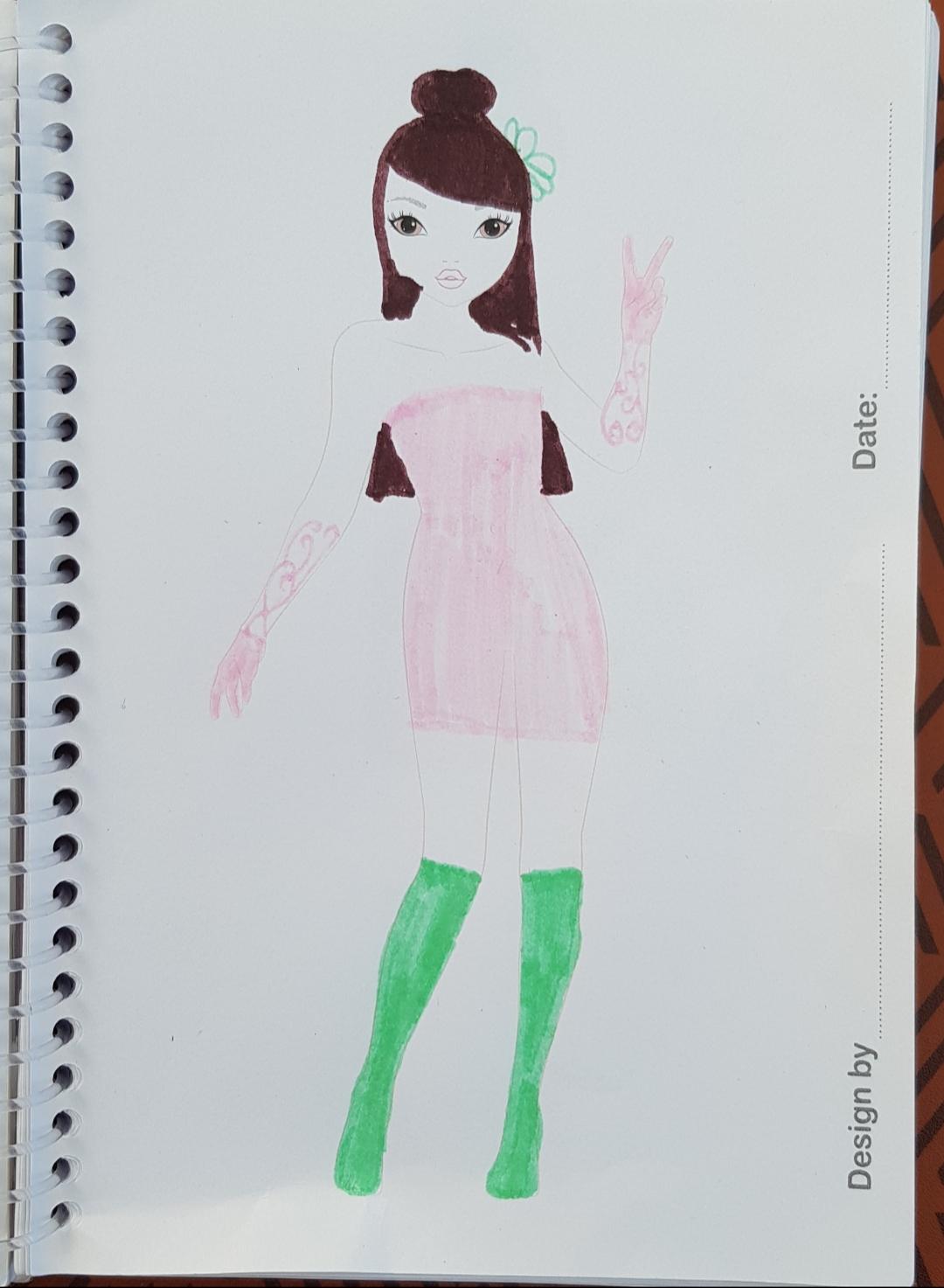 Nora  C., 9 ans, sur Rennes