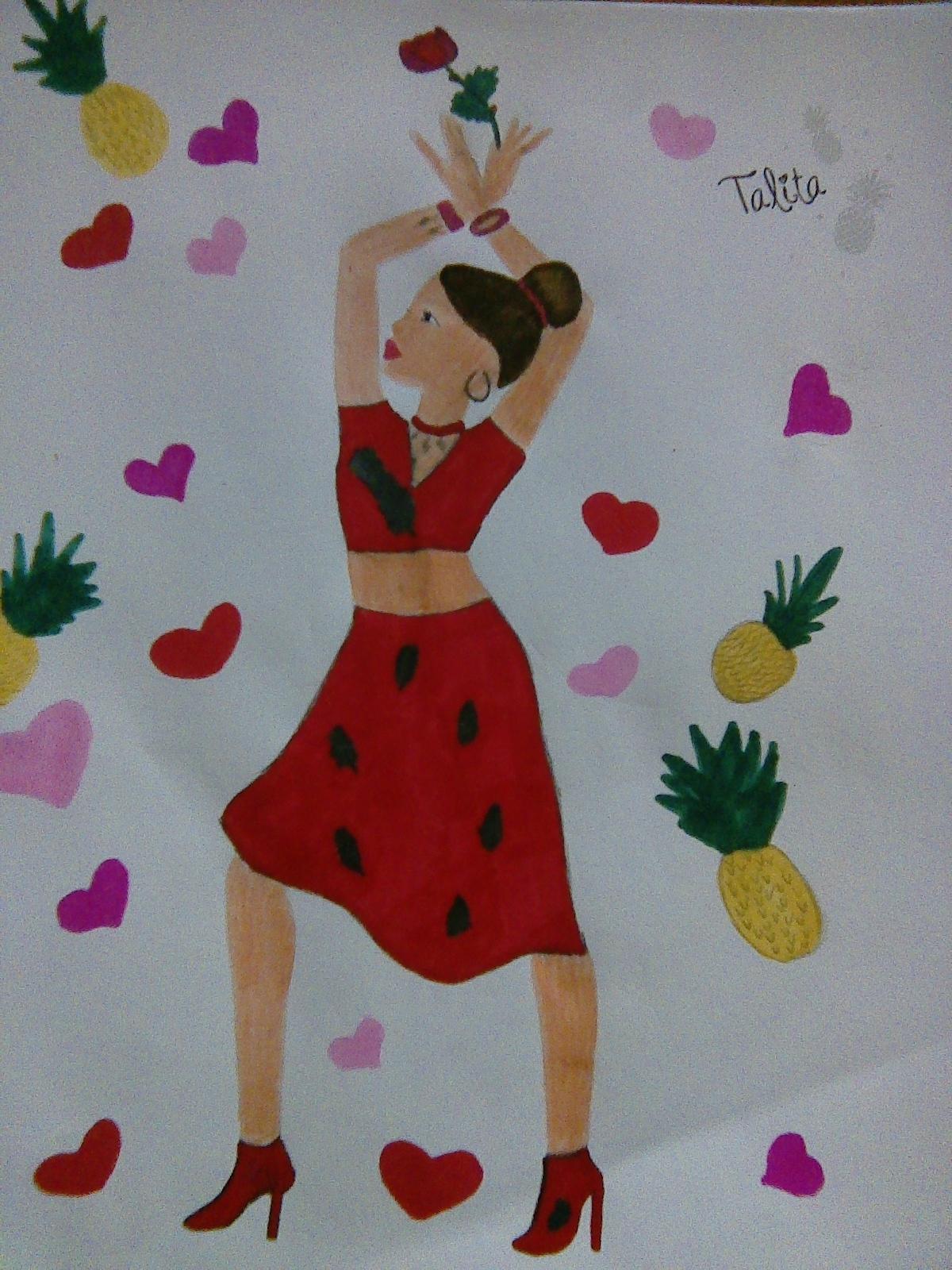 Erin T., 12 ans, sur Chauffailles