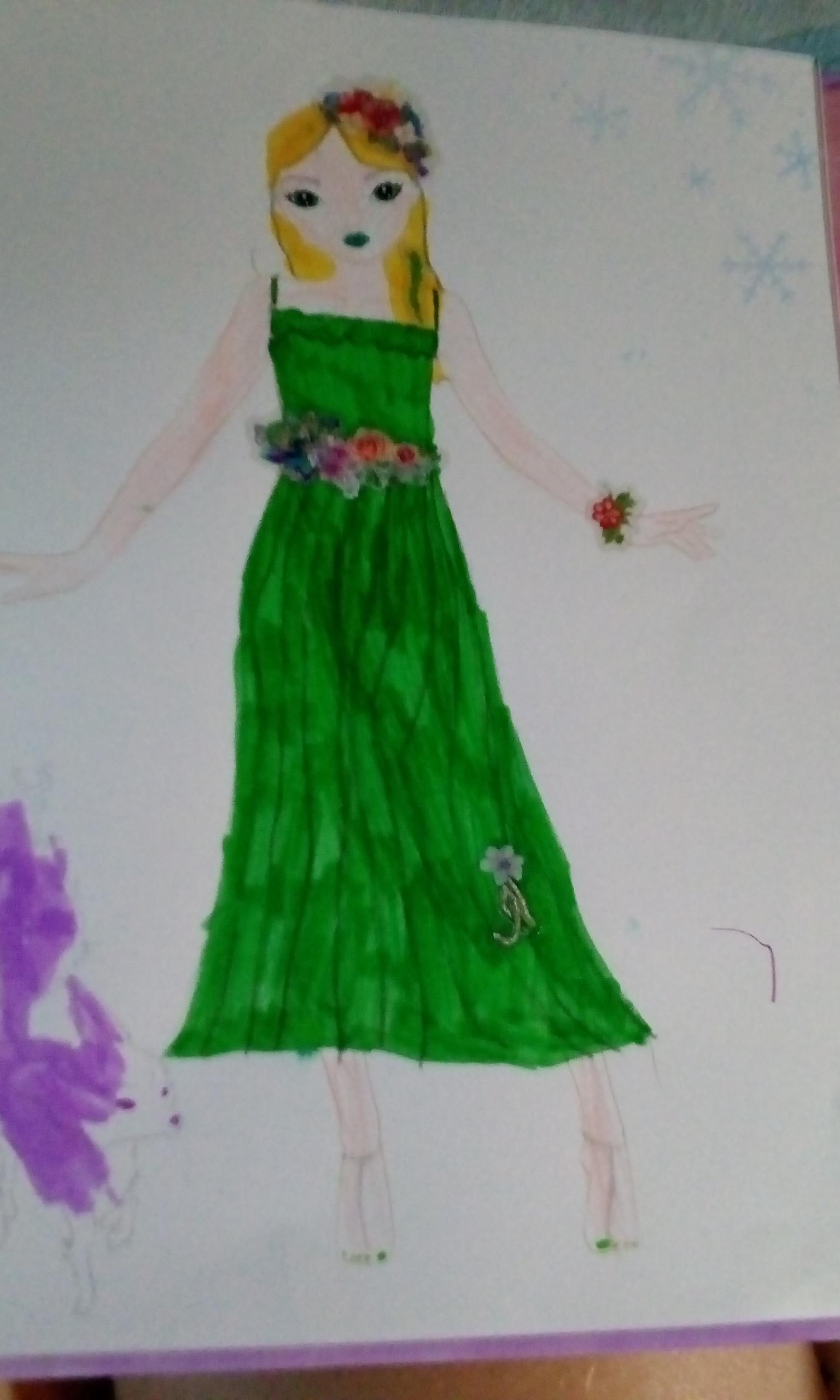 Michele B., 8 ans,