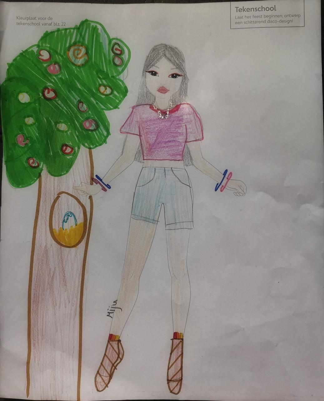 Olivia M., 9 Jaar, Dordrecht