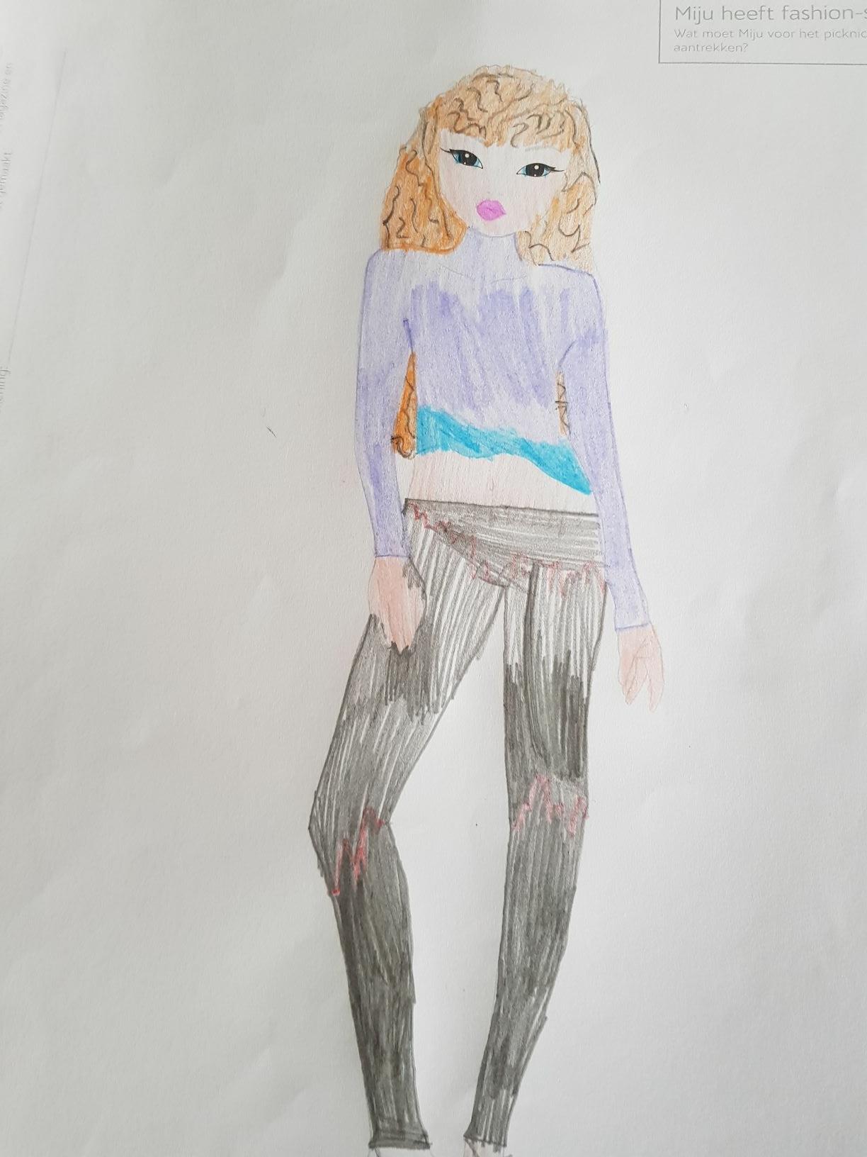 Celine R., 7 Jahre, aus Middenbeemster