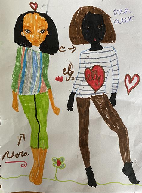 Alex B., 6 Jaar, uit Nieuwkerken-Waas