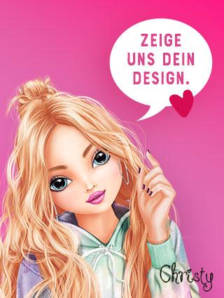 Christy möchte Dein Design sehen.