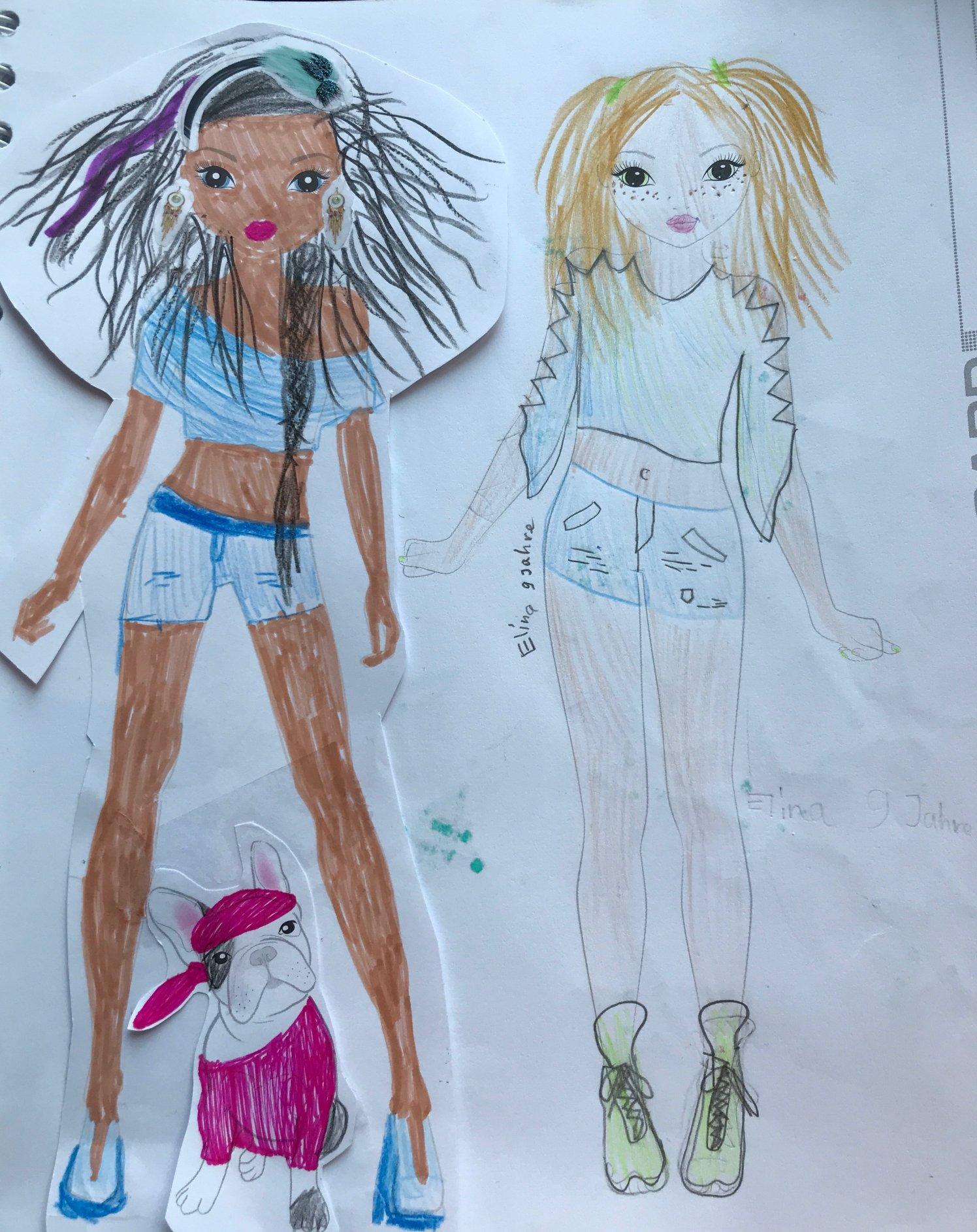 Elina A., 9 Jahre, aus Zürich