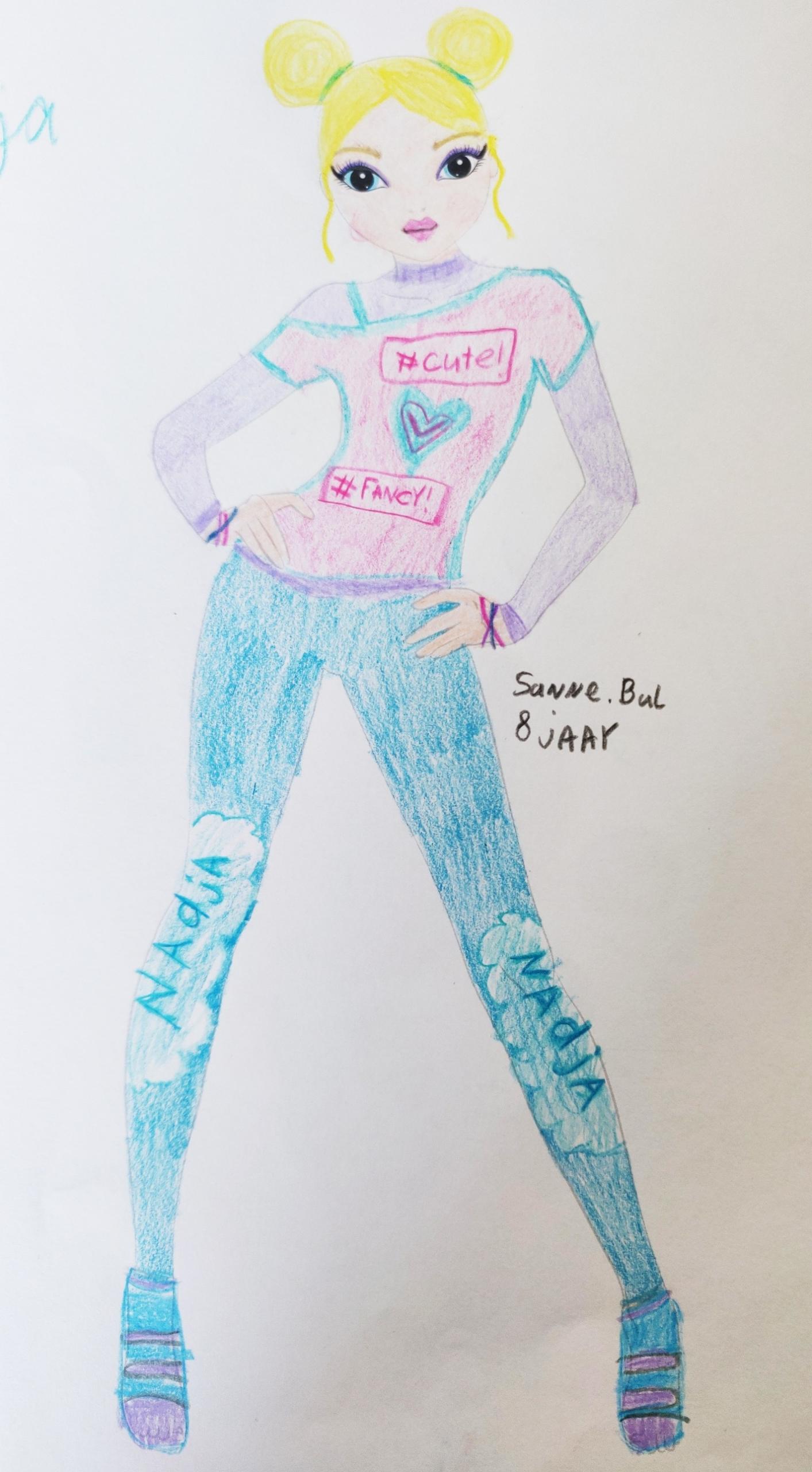 Sanne B., 8 Jahre, aus Waalwijk