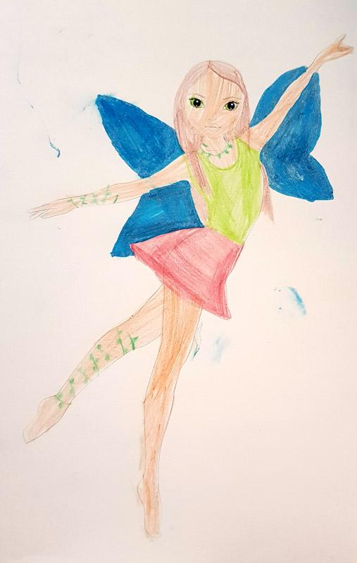 Amy M., 5 Jahre, aus Locarno