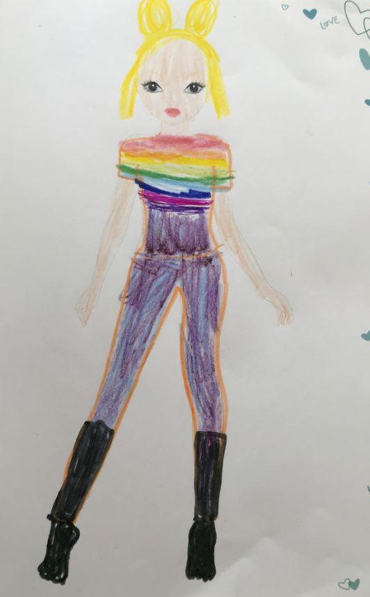 Mia  S., 7 Jahre, aus Unterföhring