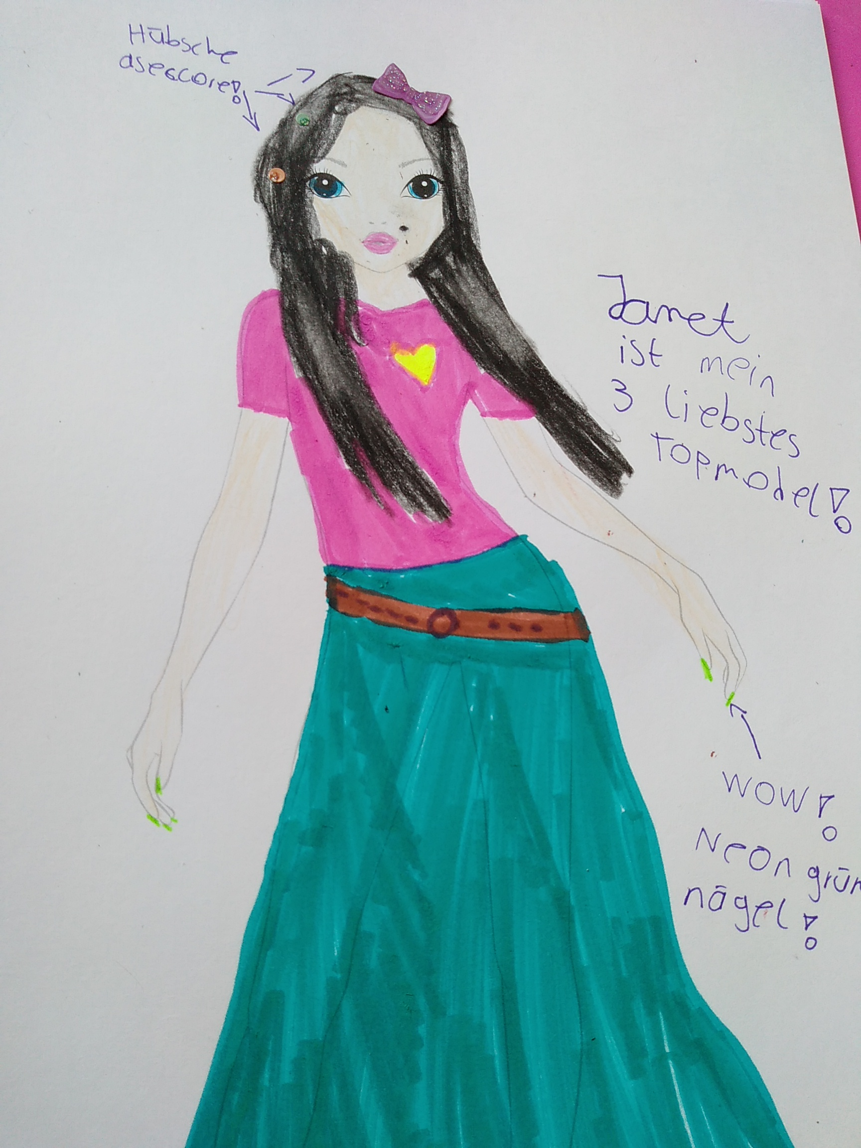Marie- Joleen W., 13 Jahre
