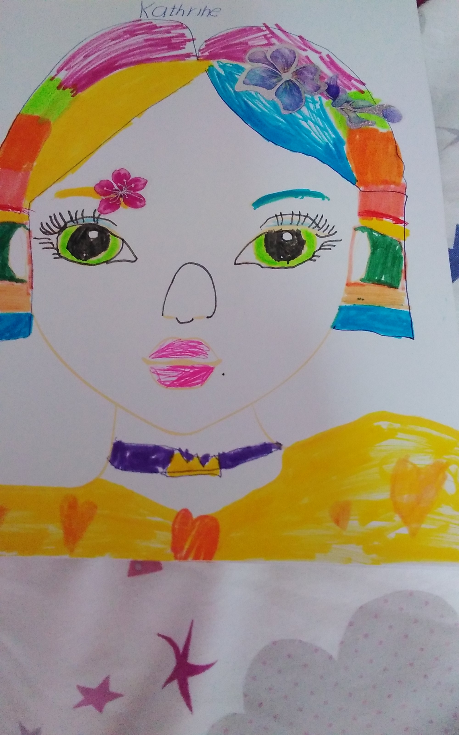 Jessica  W., 6 Jahre, aus Lucan