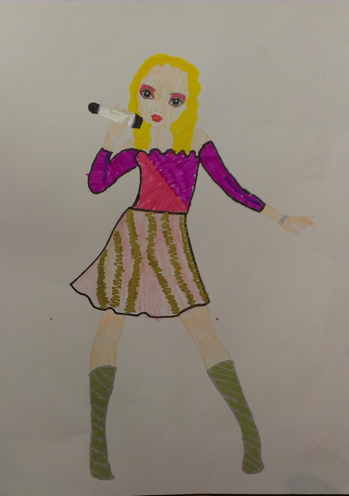 Simona L., 8 Jahre, aus Vinohrady nad Váhom