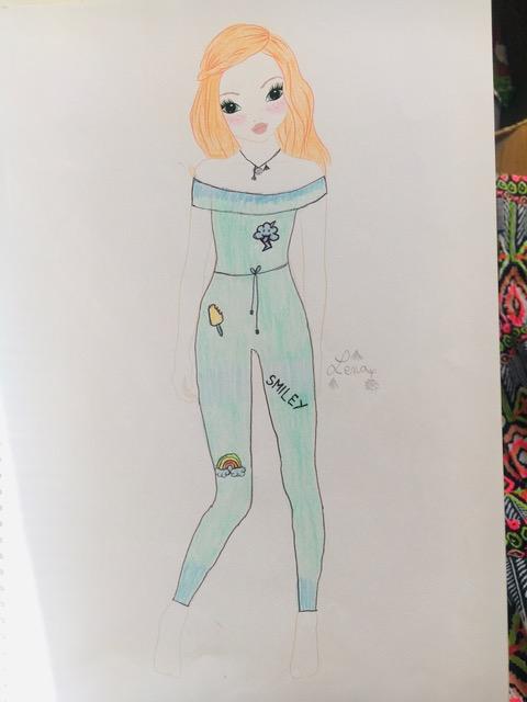 Leïla D., 12 Jahre, aus Paris