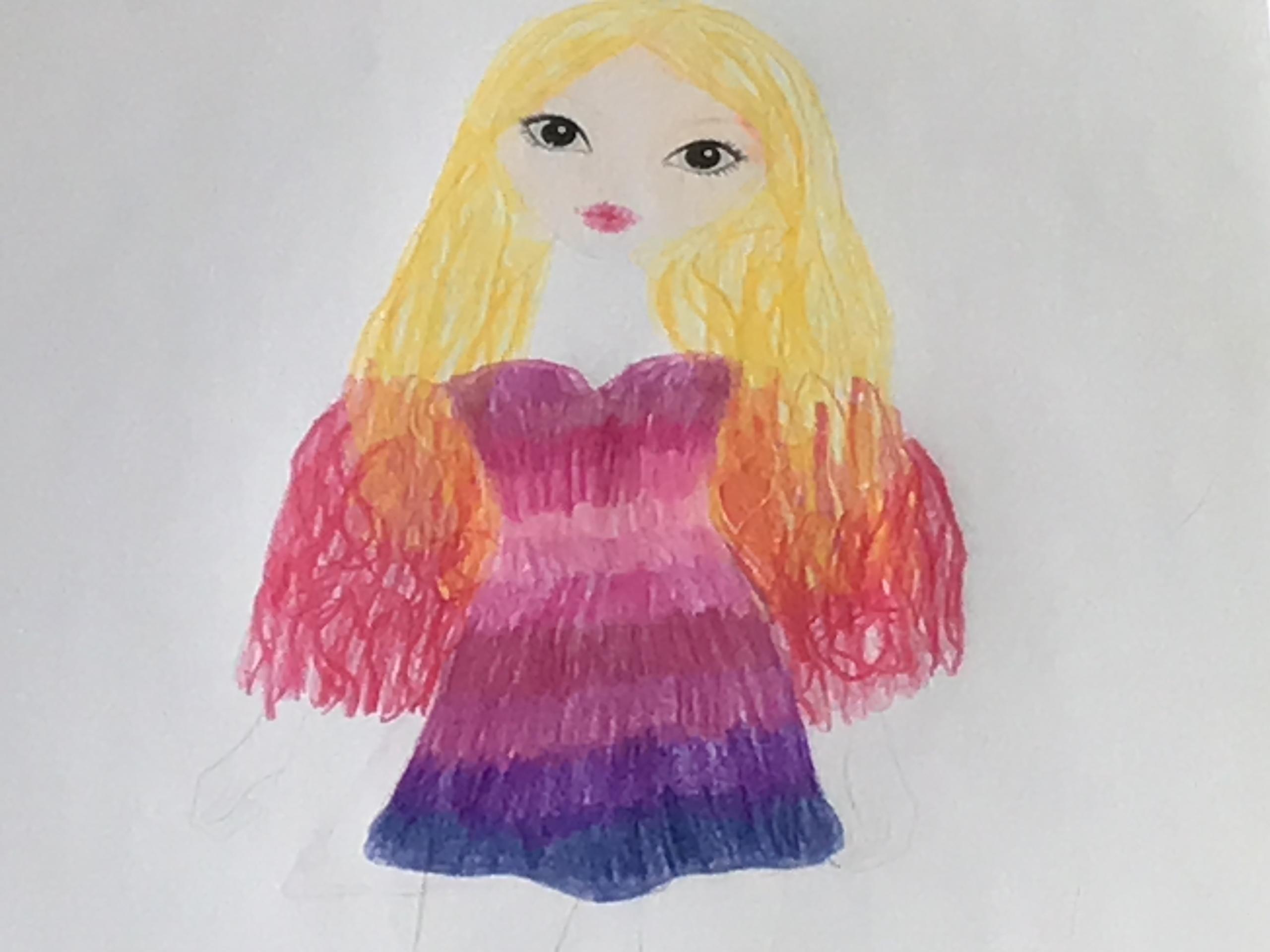 Maya H., 8 Jahre, aus Luzern