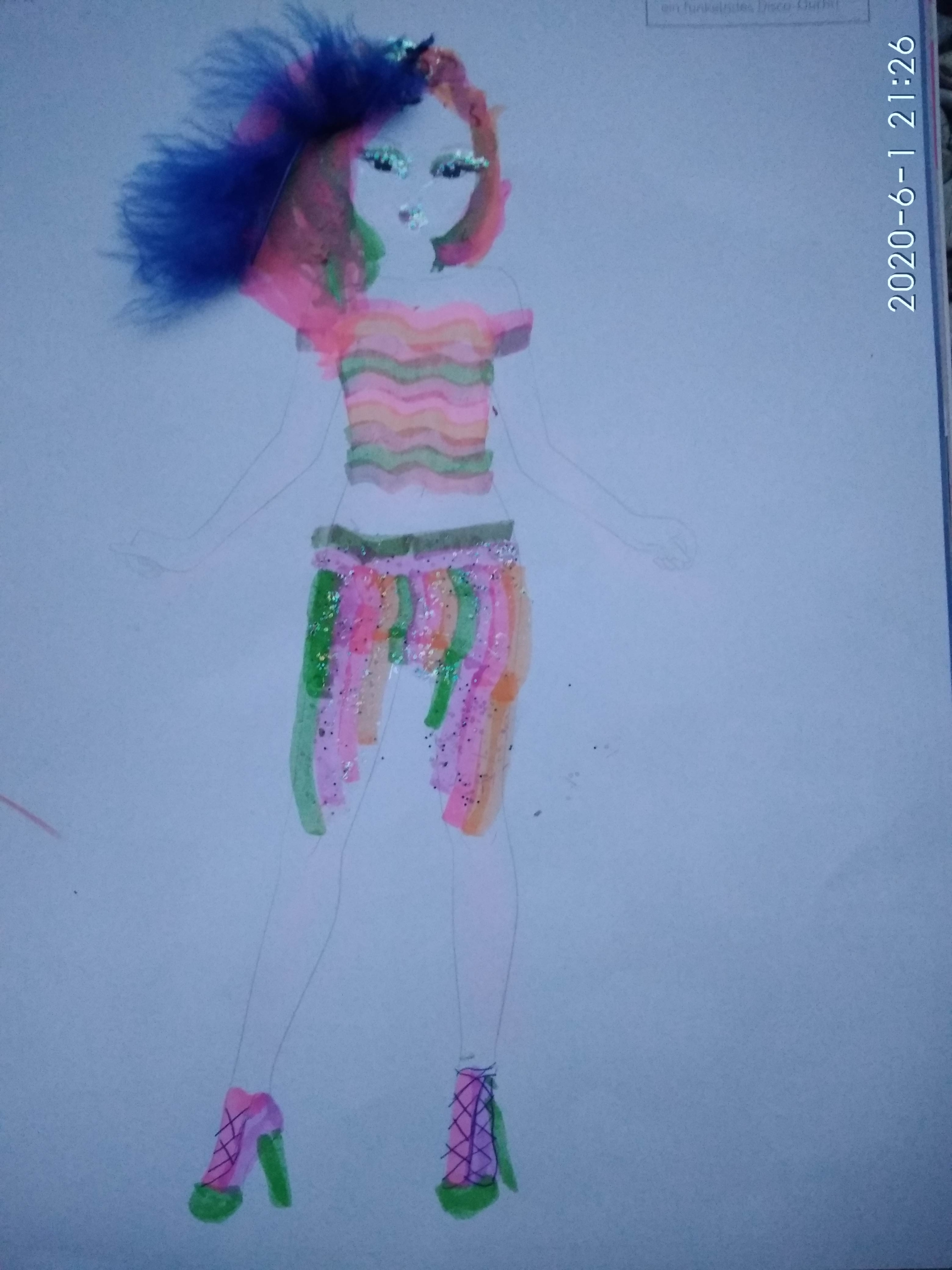 Christina F., 10 Jahre, aus Berlin