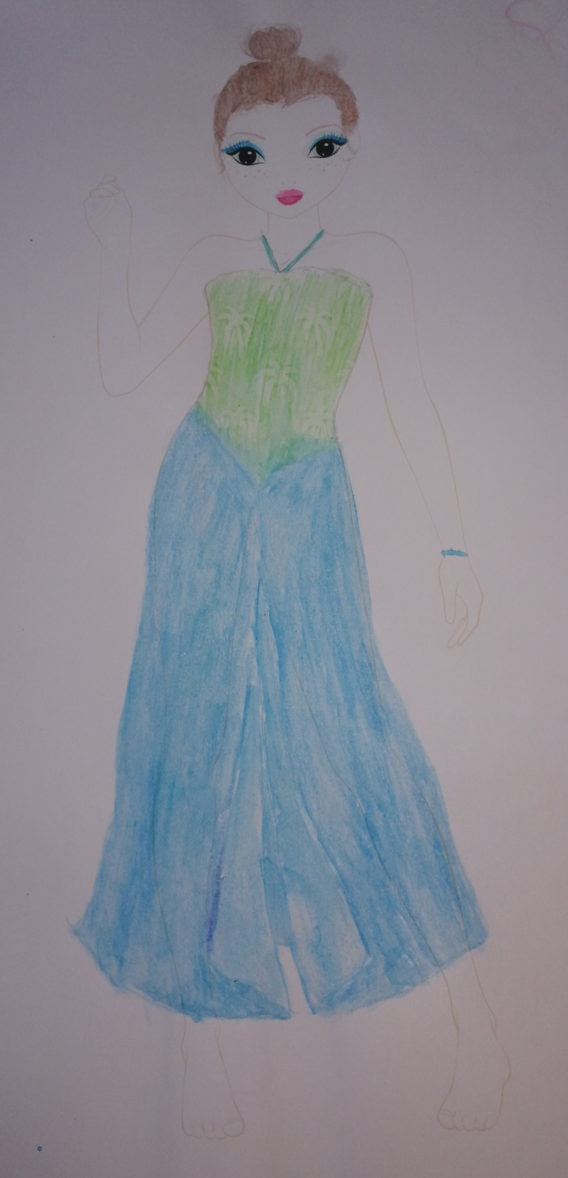 Eleanor  F., 13 Jahre,  Friedeltsheim