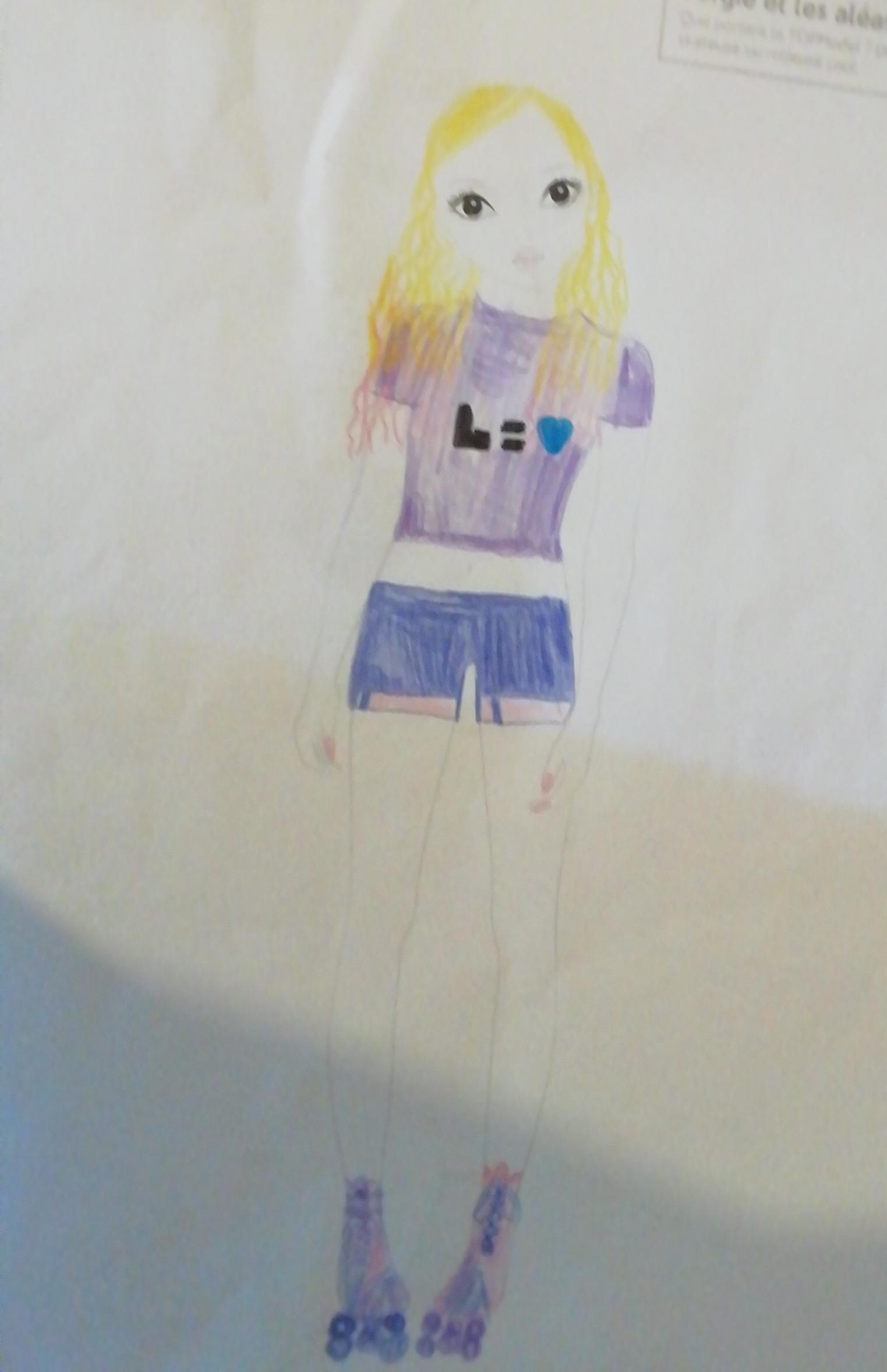 lila r., 12 Jahre, aus France