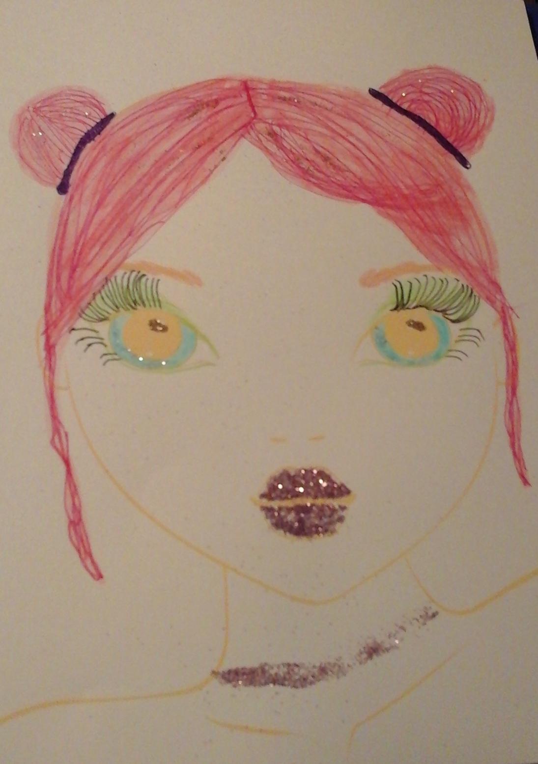 Maja K., 9 Jahre, aus Schifferstadt