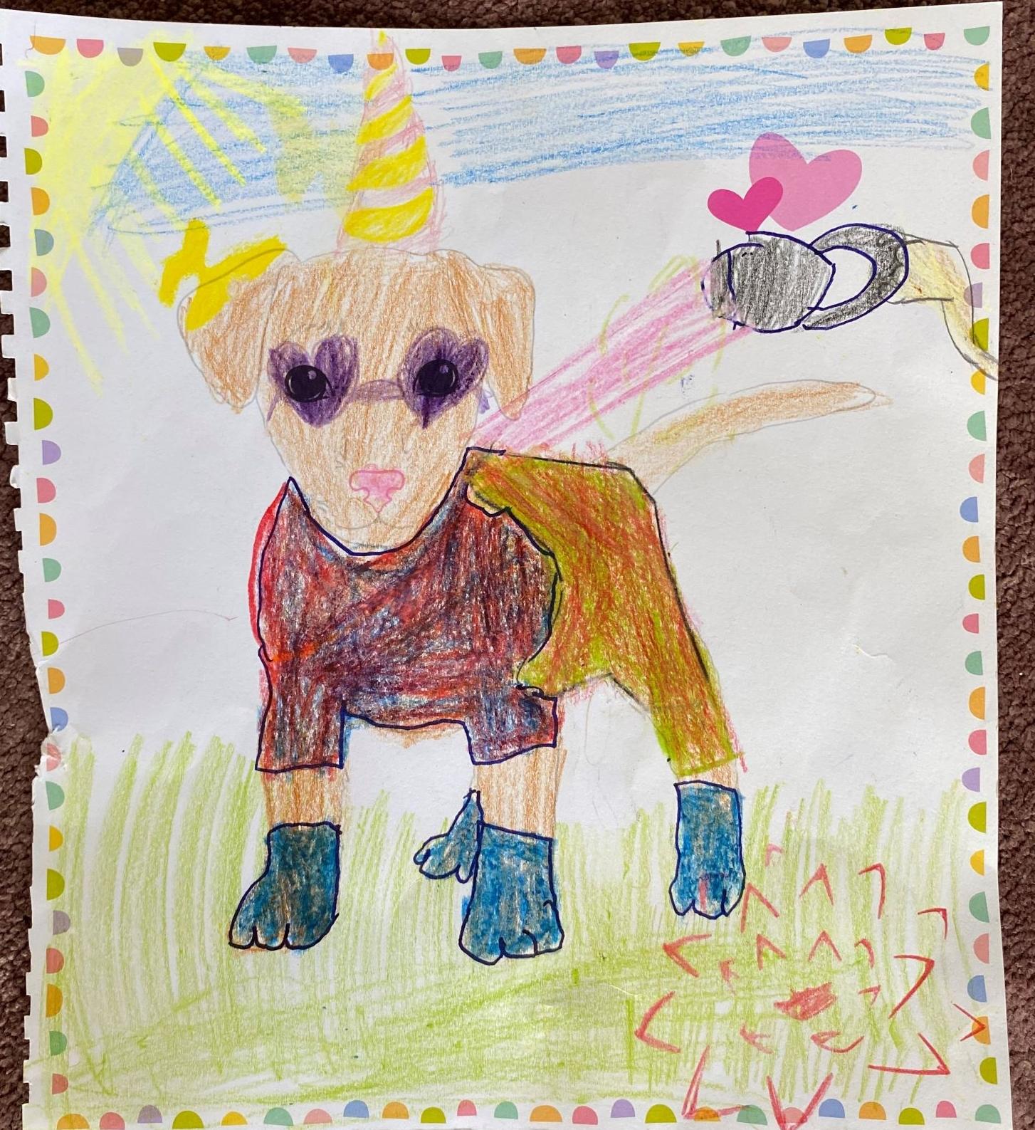 Pamira K., 8 Jahre, aus Düsseldorf