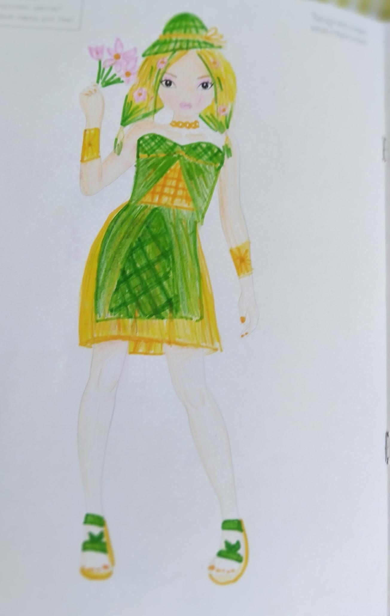 Мария Ф., 8 Jahre, aus Клин