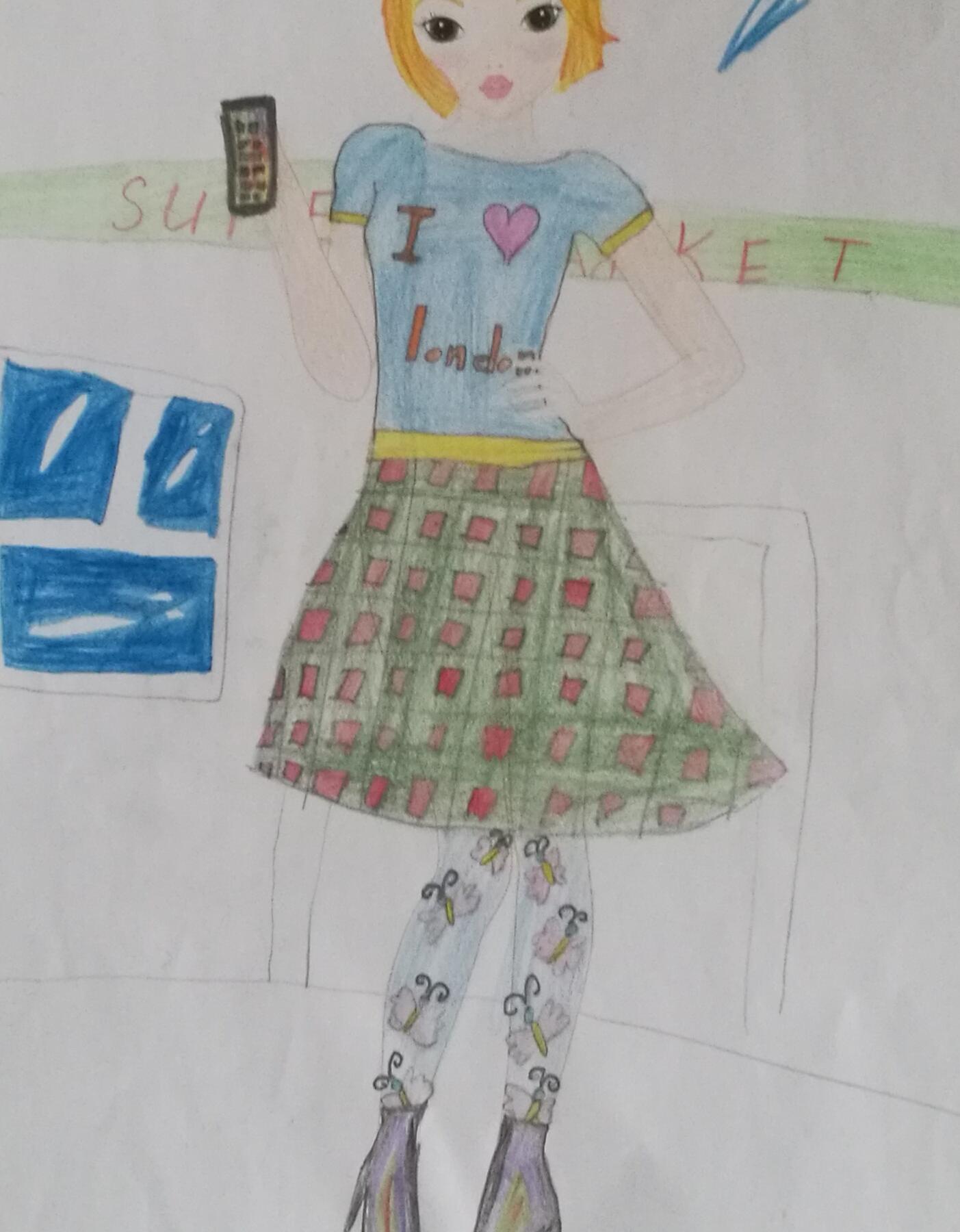 Alissa E., 10 Jahre, aus Moscou