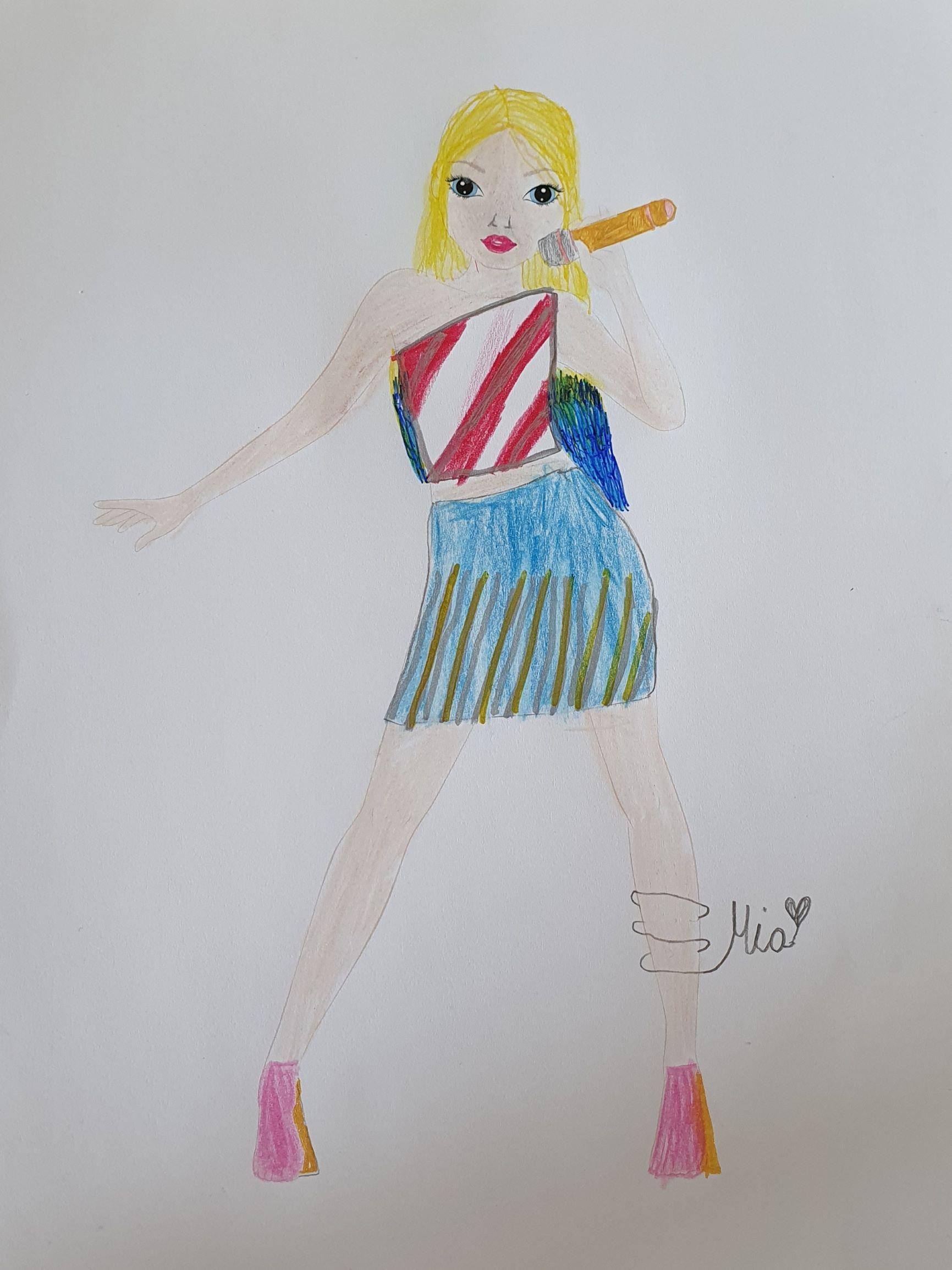 Mia K., 9 Jahre, aus Nordkirchen