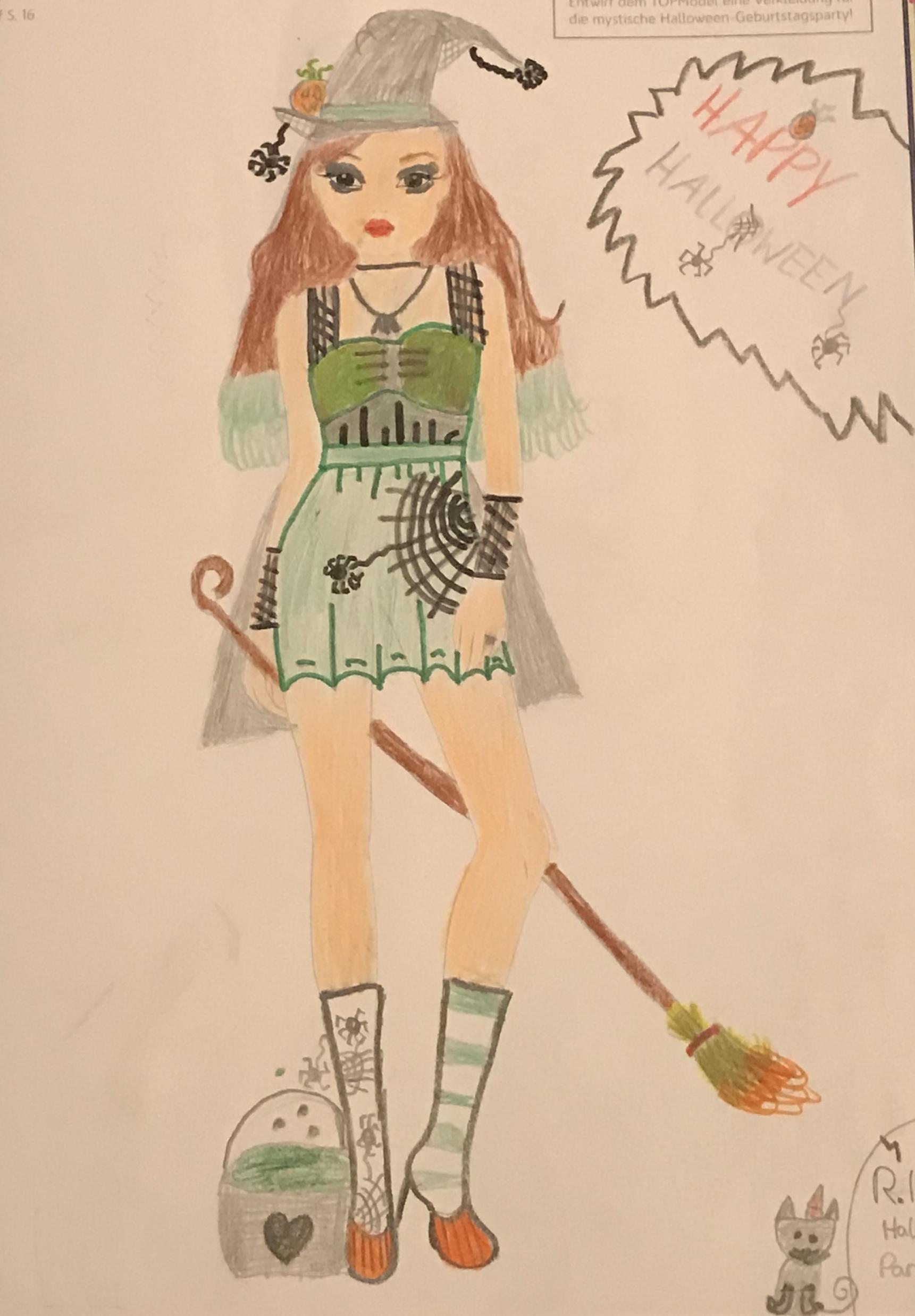 Hannah  Sophie  F., 10 Jahre, aus Potsdam