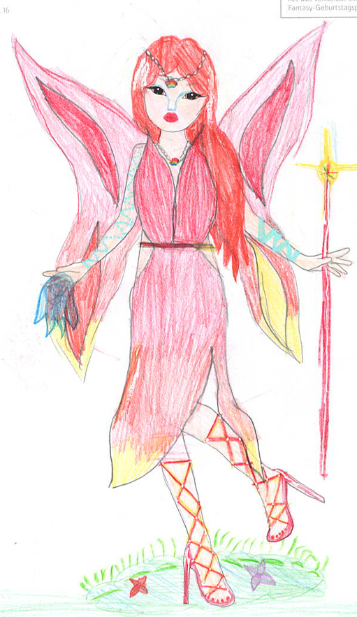 Marie-Christin  ., 9 Jahre, aus Oberndorf