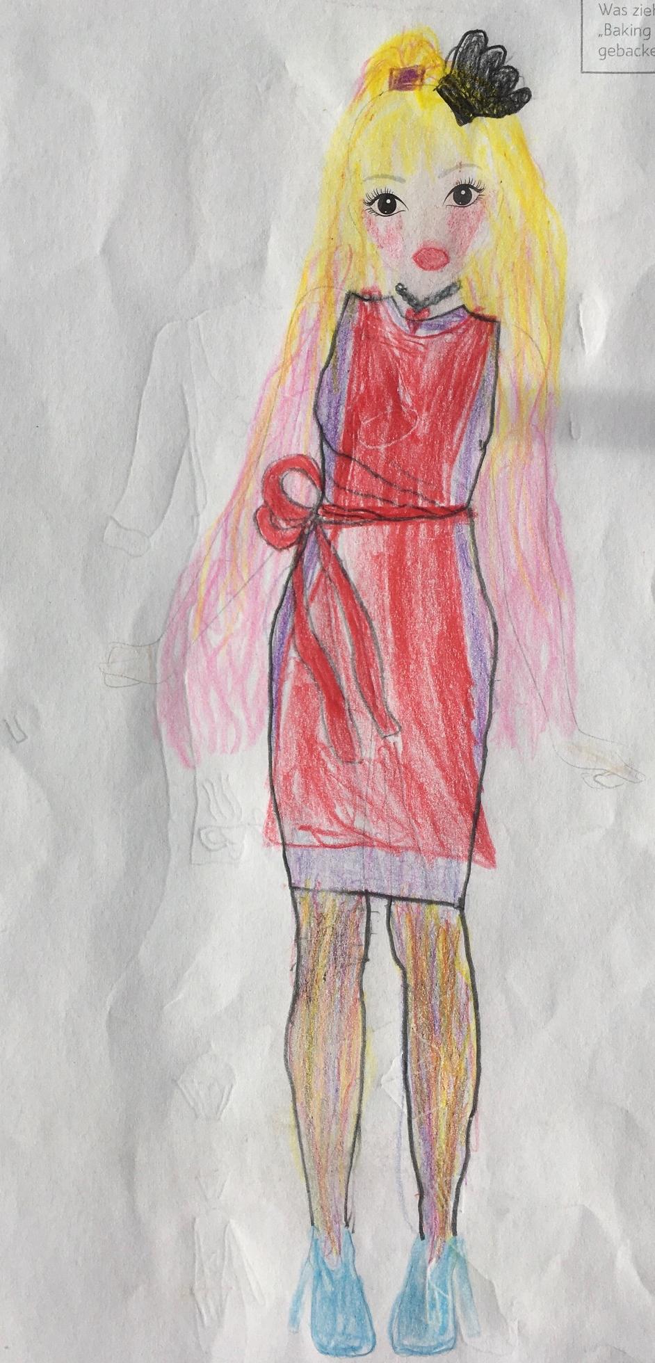 Mia F., 8 Jahre, aus Magdeburg