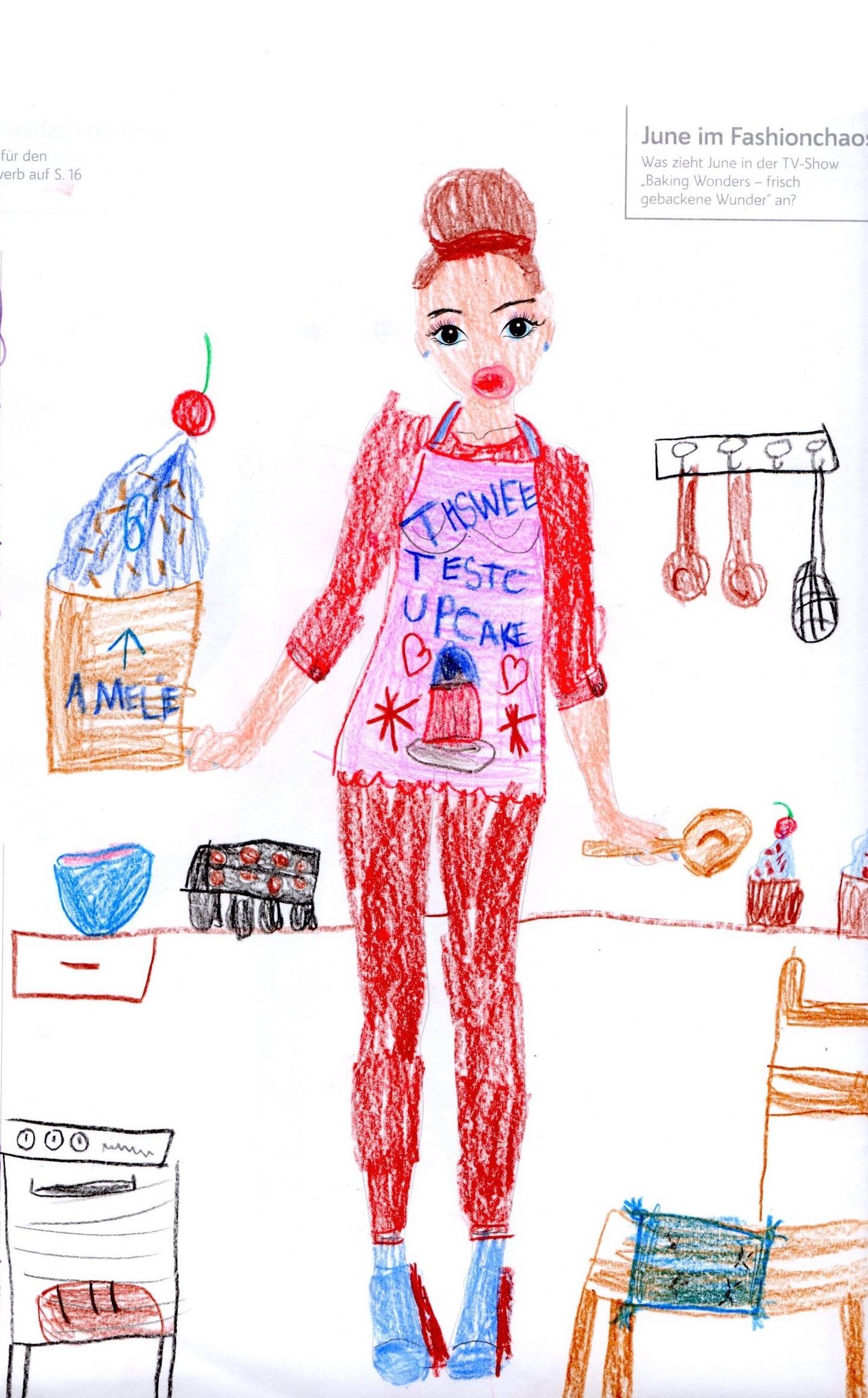 Amelie P., 6 Jahre, aus Berlin