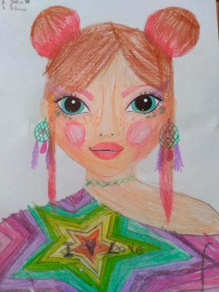 Clara K., 8 Jahre, aus Enns