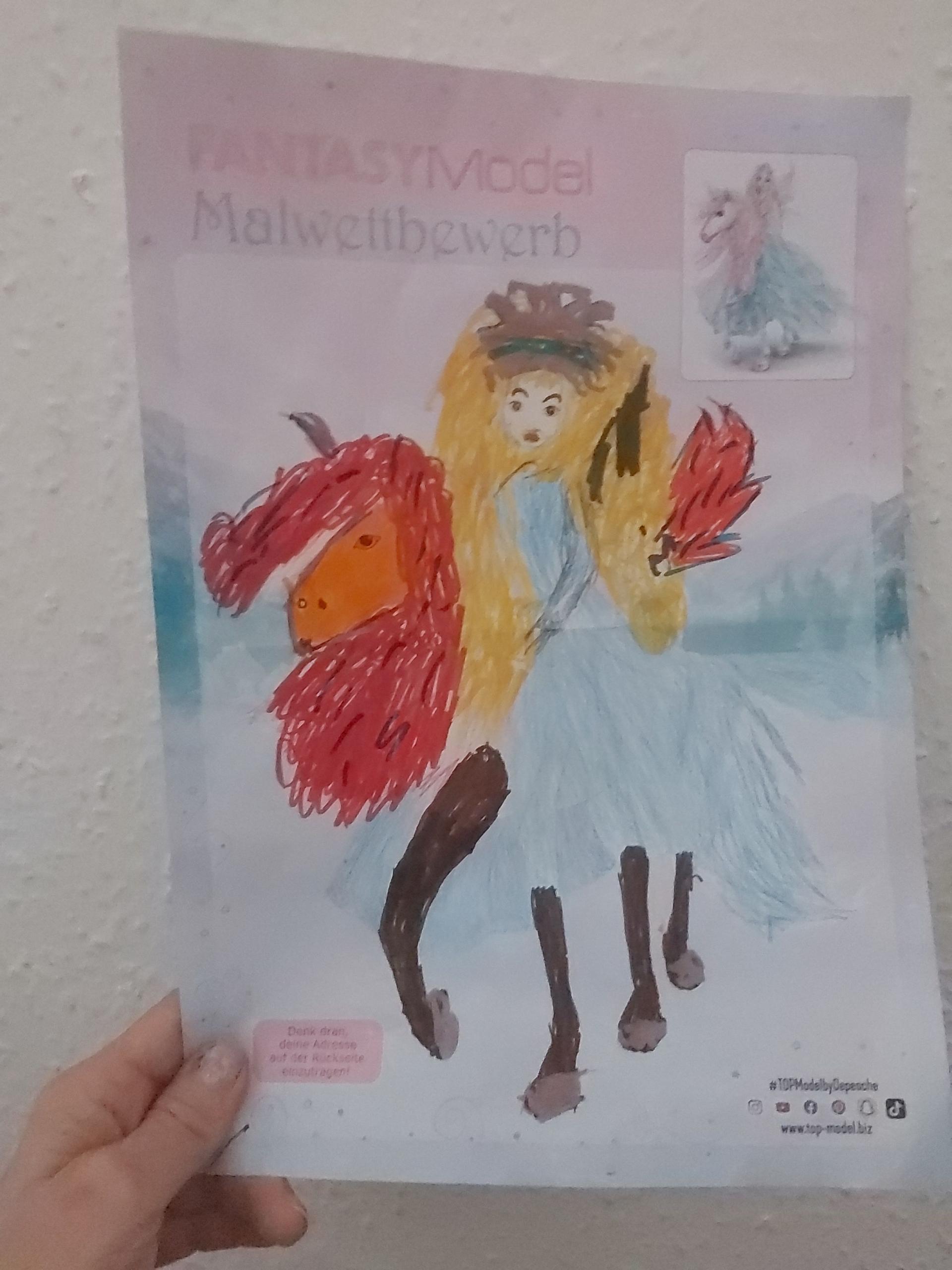 Emilia B., 7 Jahre, aus Chemnitz