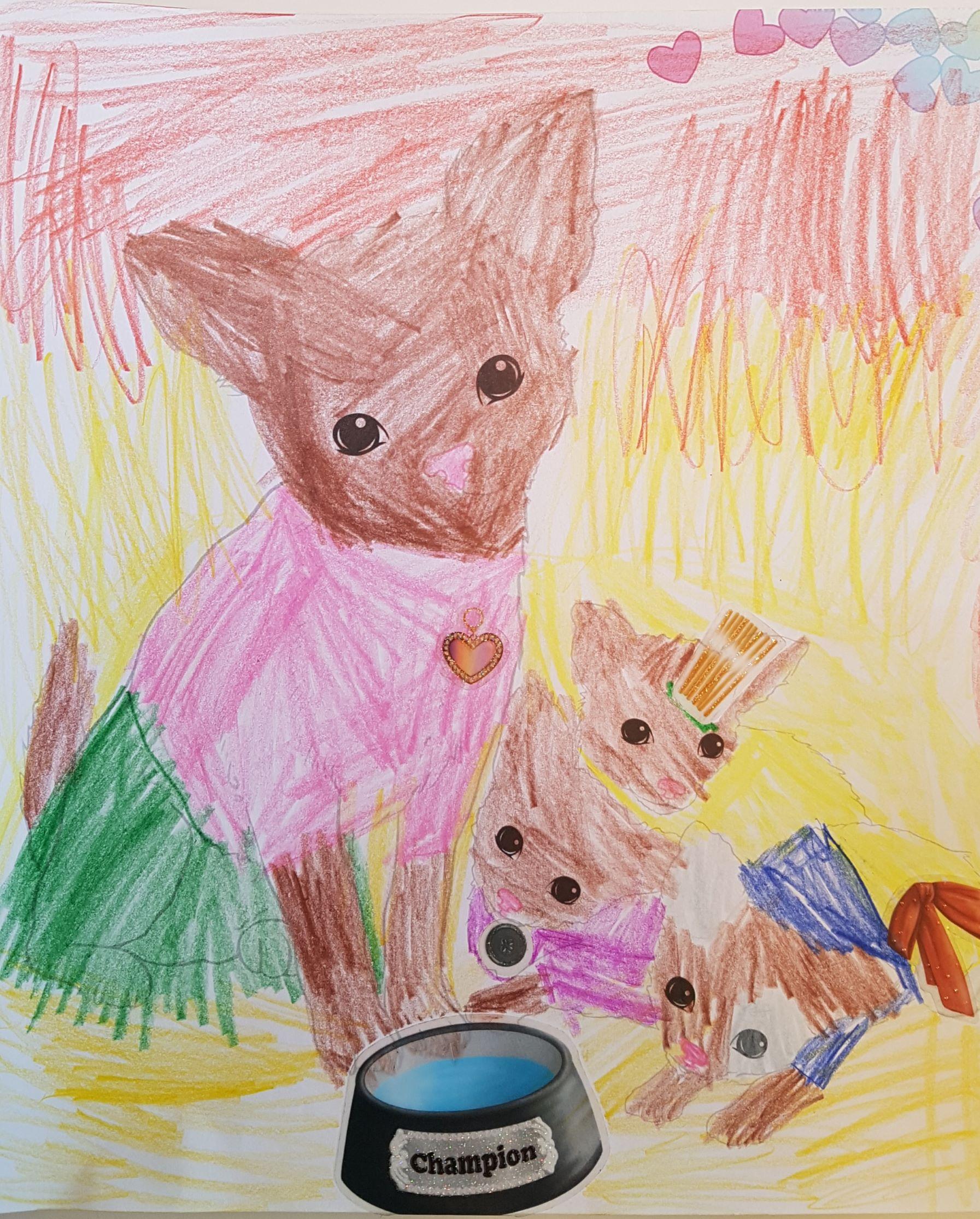 Eleanor C., 7 Jahre, aus Flawil