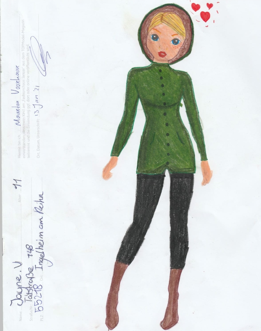 Jayne V., 11 Jahre, aus Ingelheim