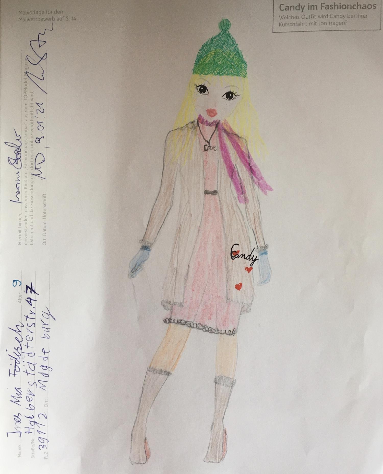 Ines-Mia F., 9 Jahre, aus Magdeburg