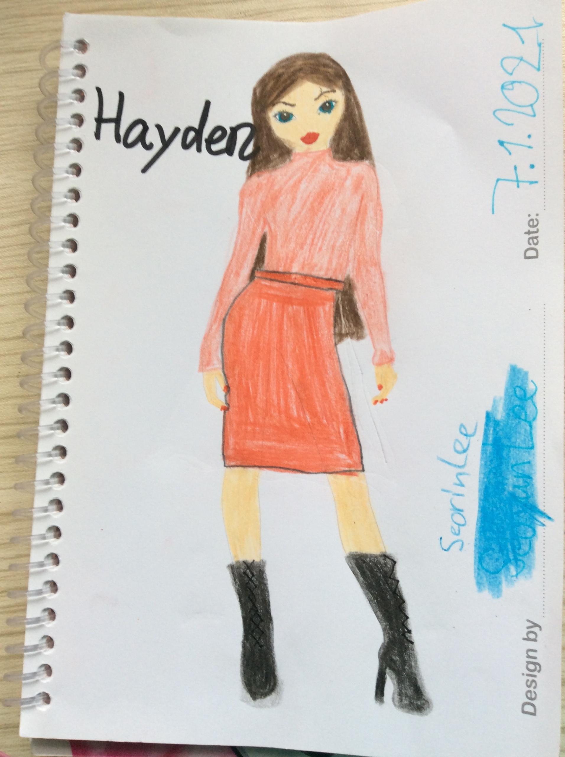 Seorin L., 8 Jahre, aus Bochum