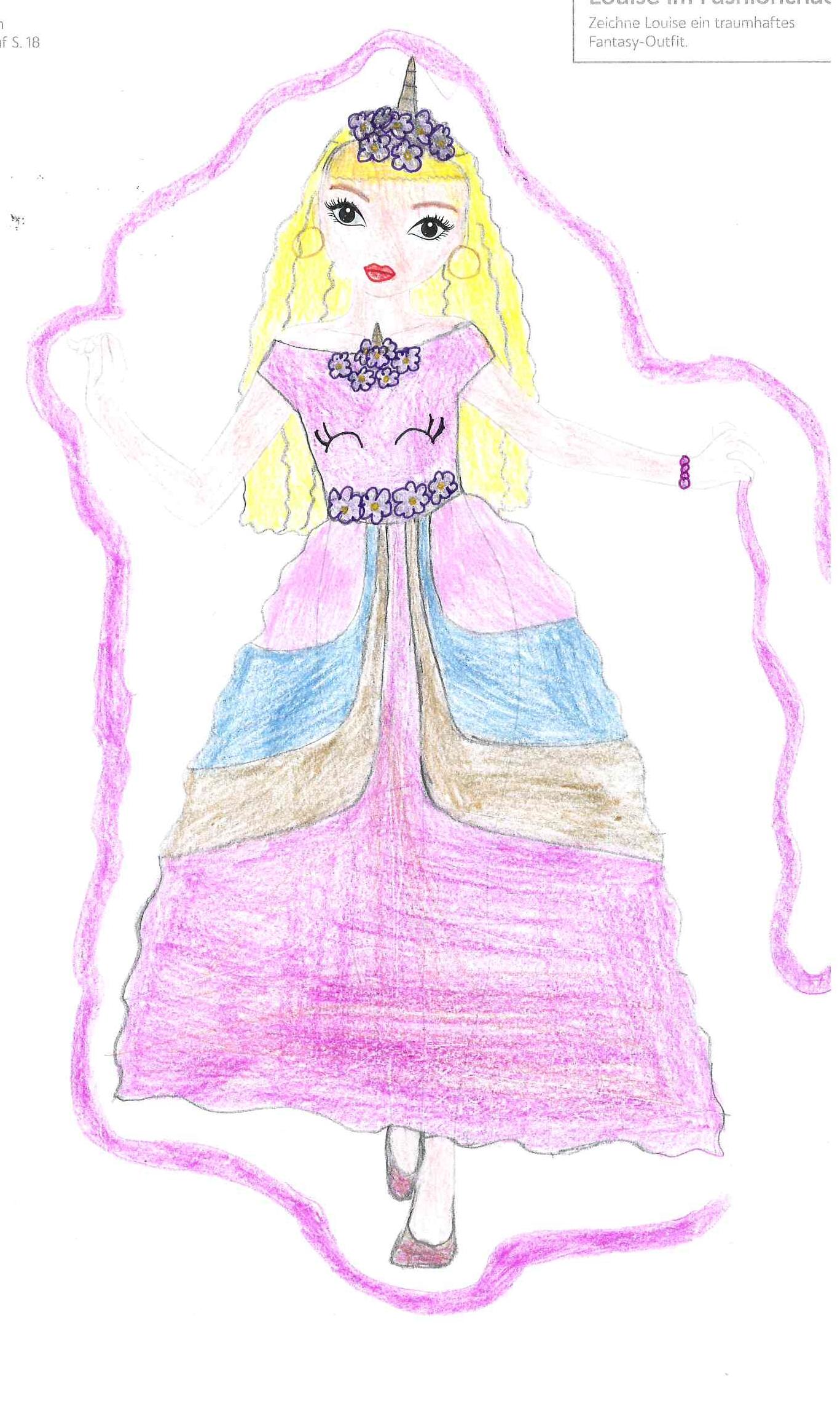 Alina E., 11 Jahre, aus Tyrlaching