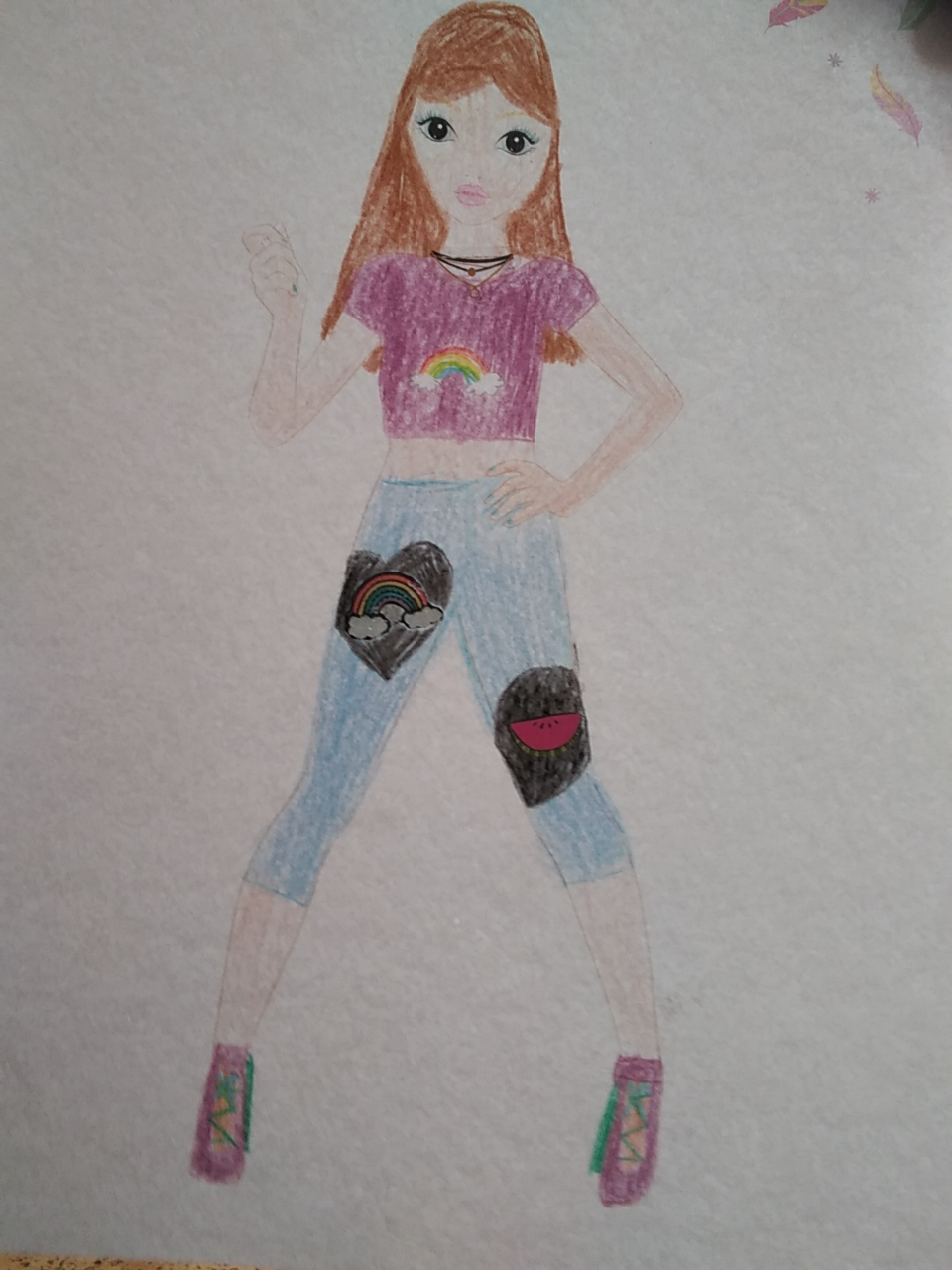 Leonie S., 9 Jahre, aus Kirchdorf am Inn (Oberösterreich)