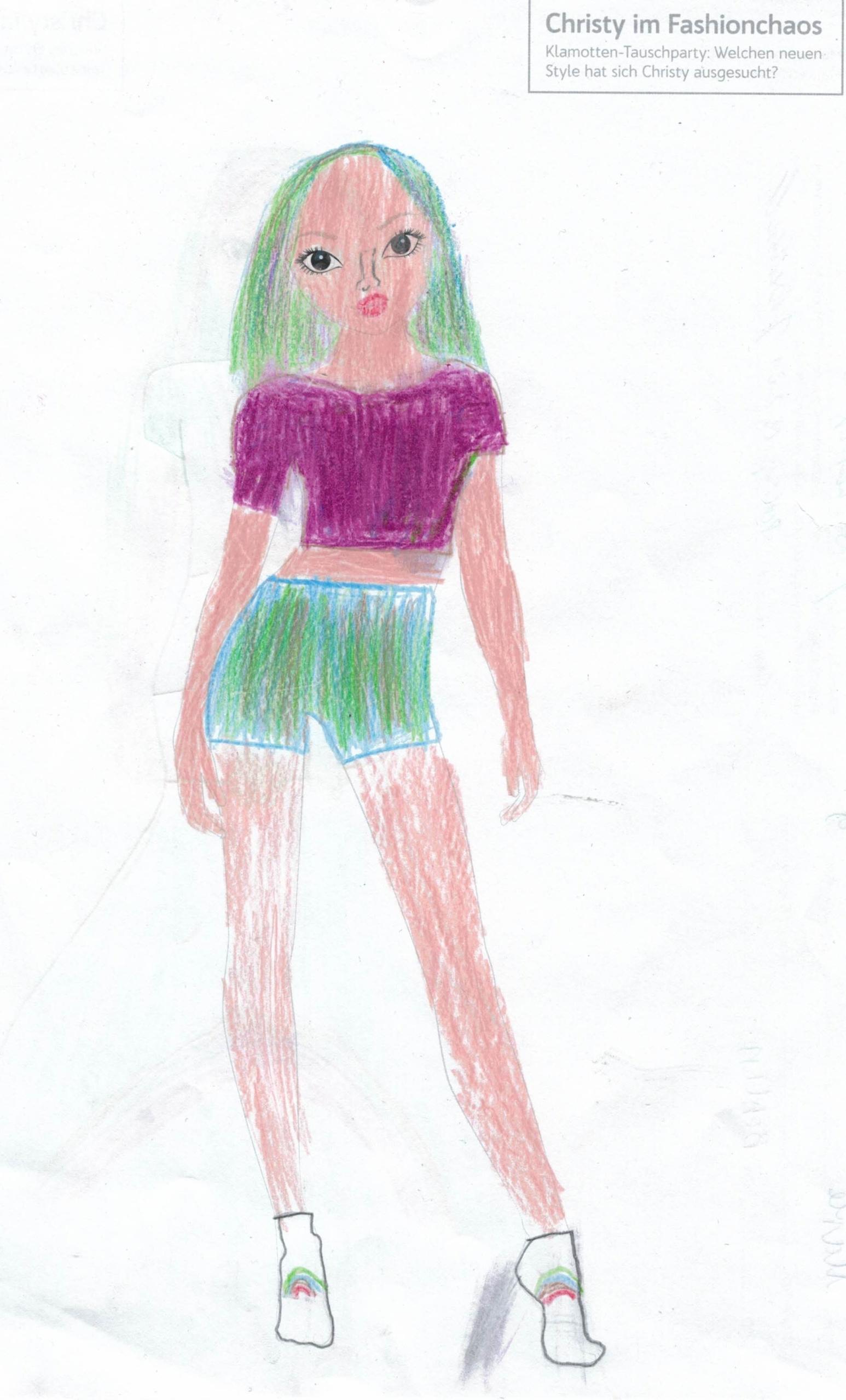 Marie F., 9 Jahre, aus Berlin