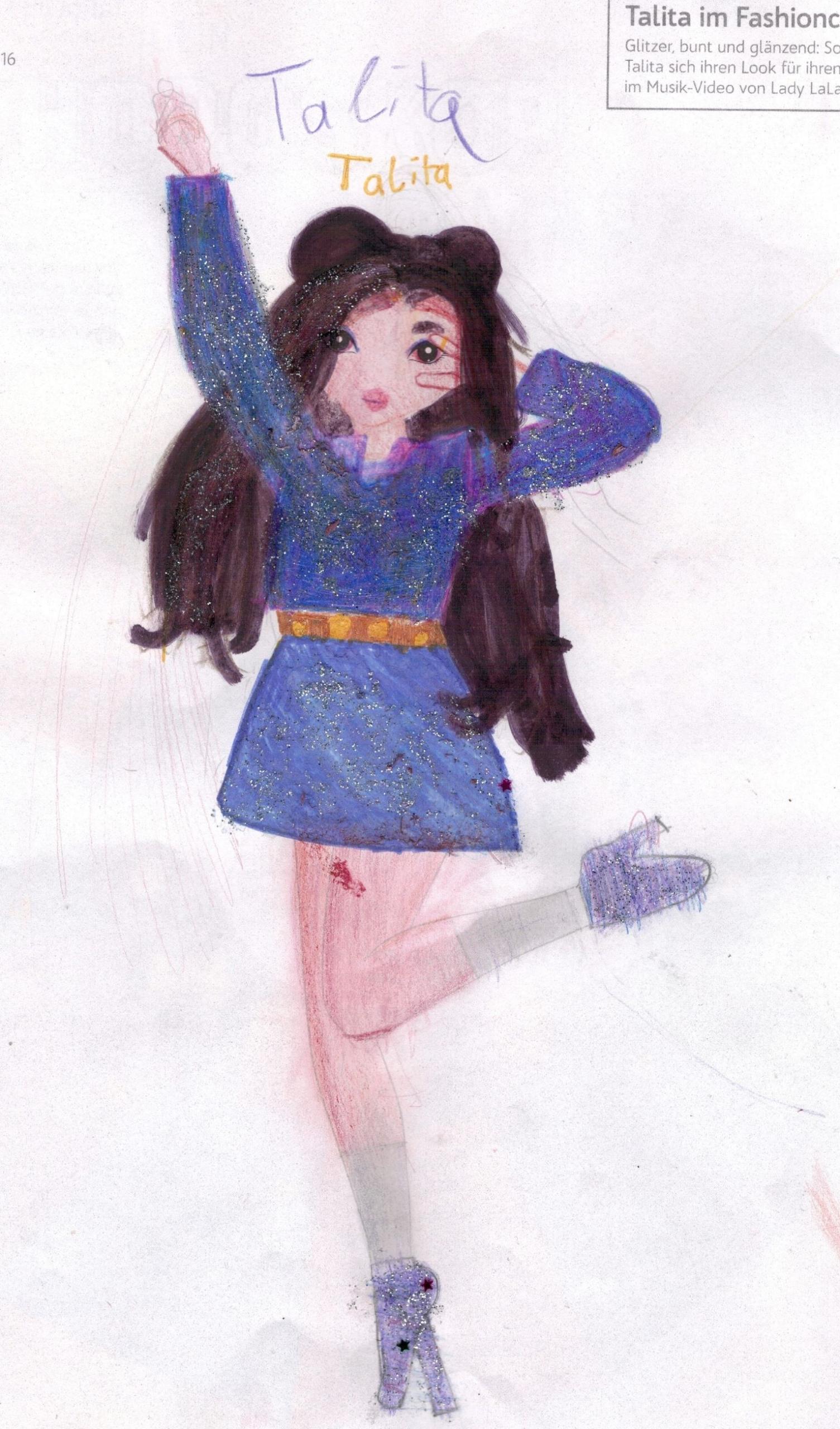 Katharina S., 9 Jahre, aus Köln