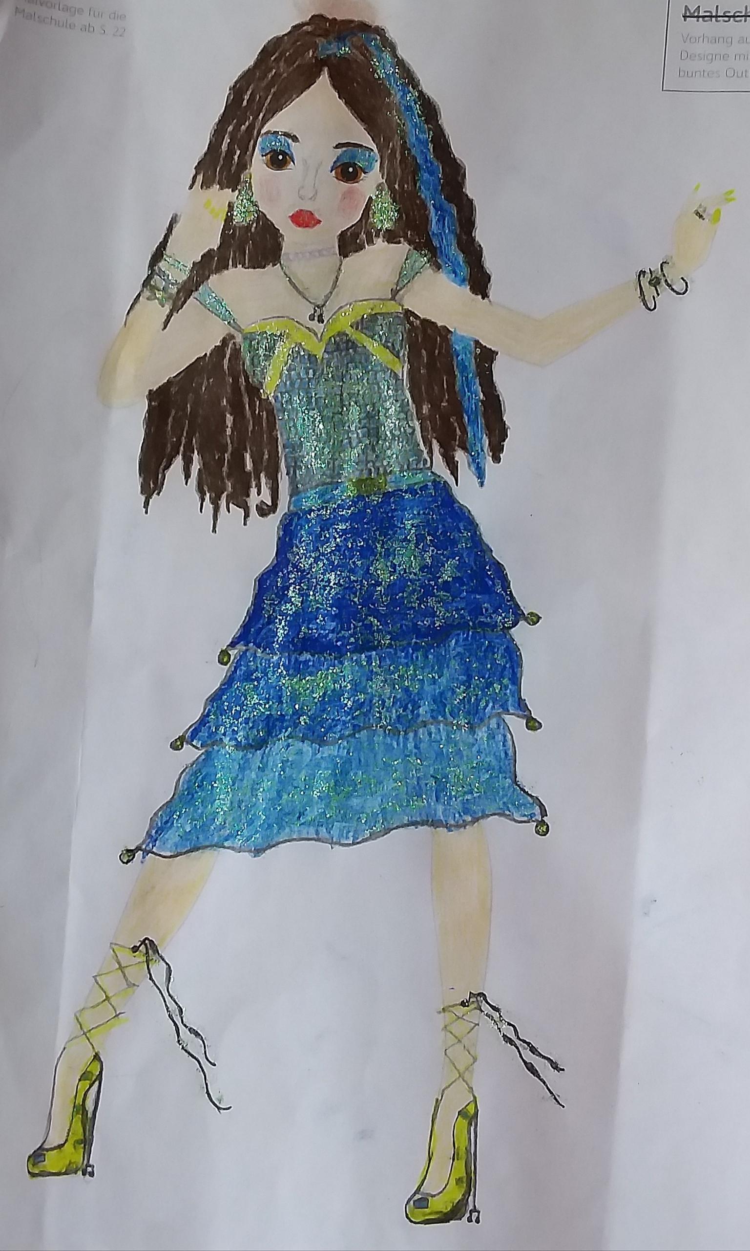 Madita G., 11 Jahre, aus Freiburg
